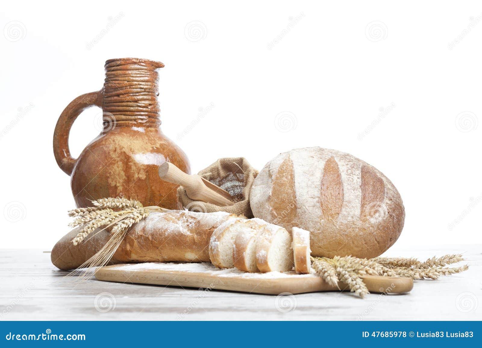 面包店面包