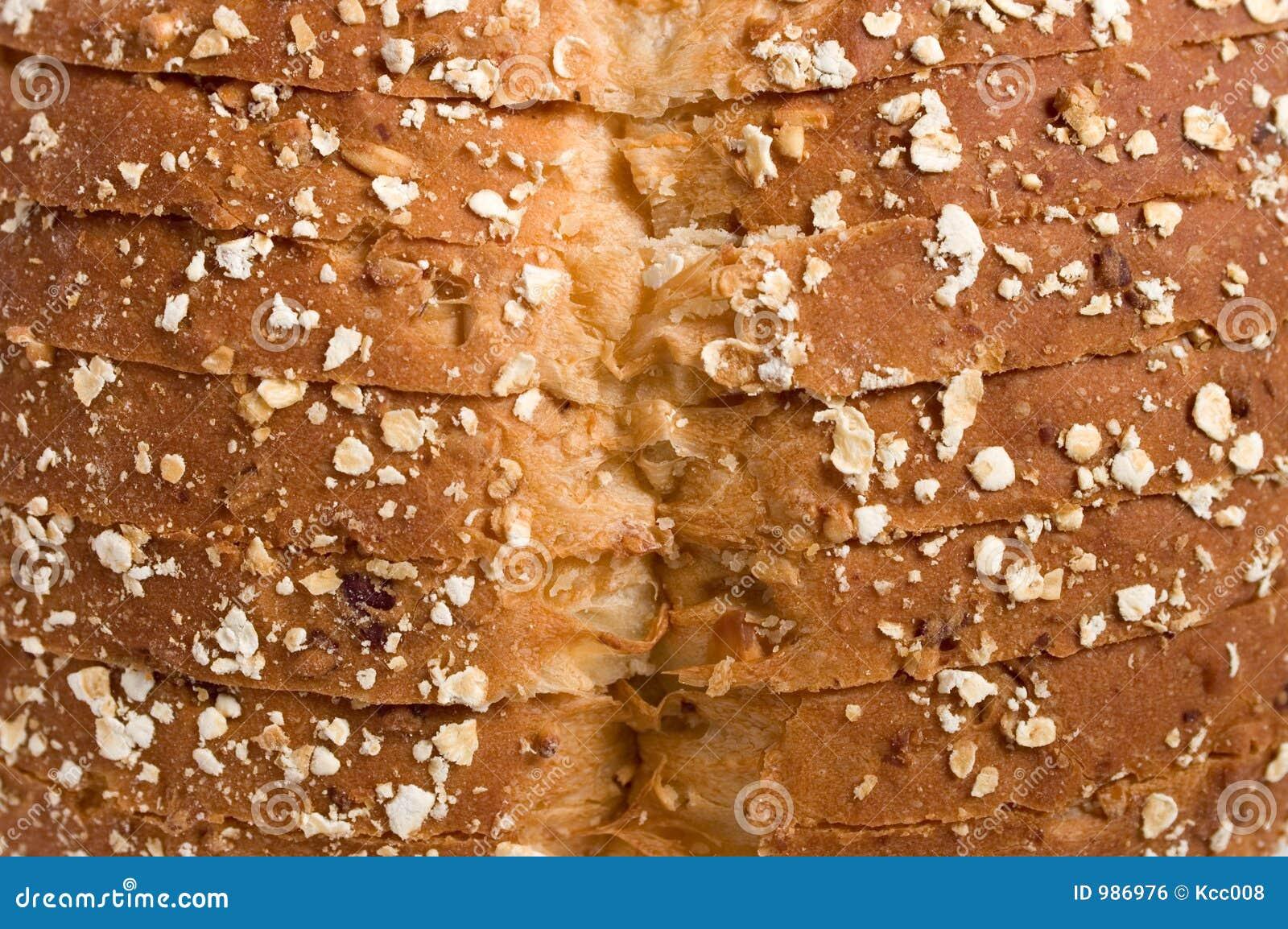 面包顶部麦子