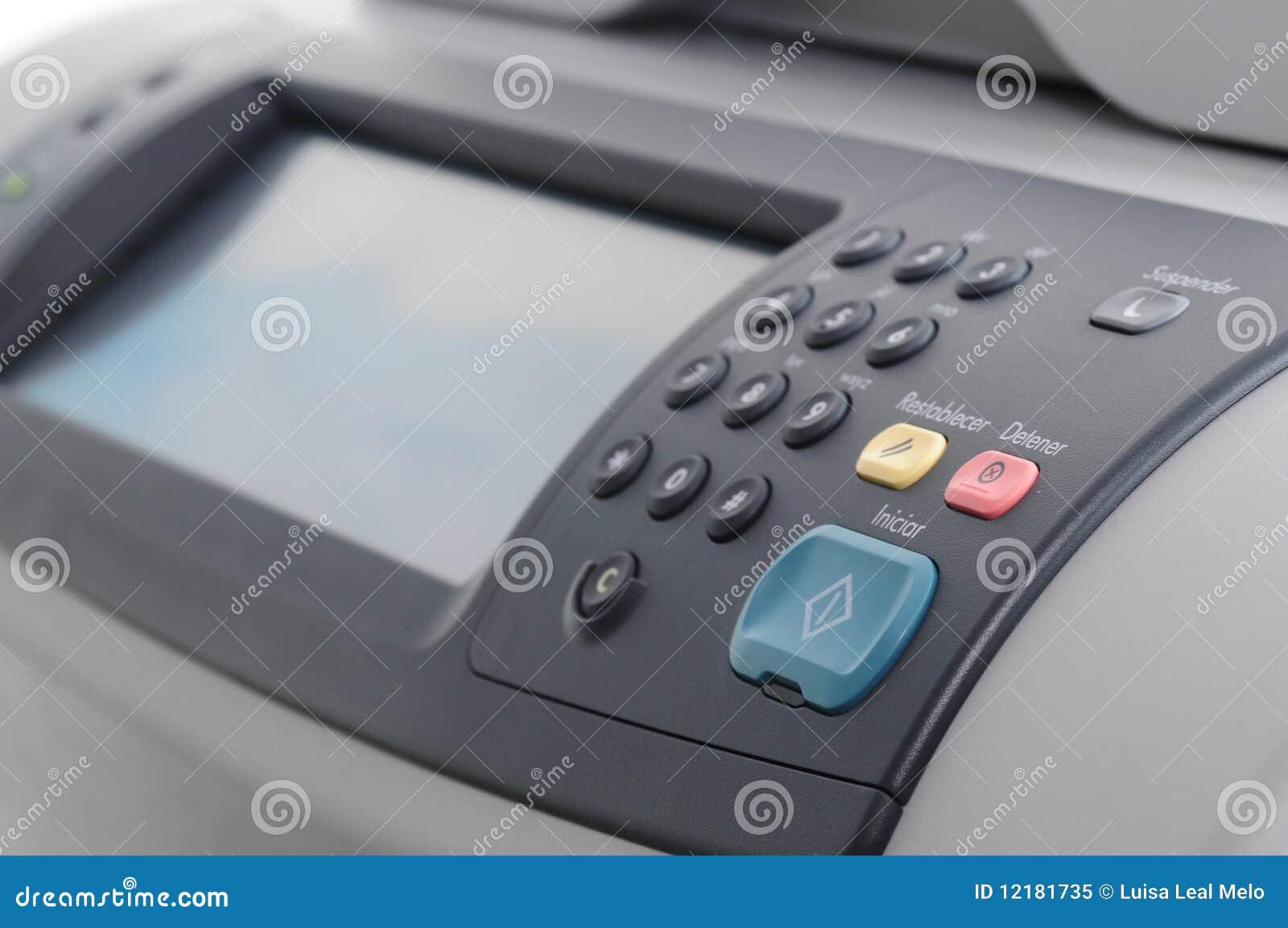 面板打印机