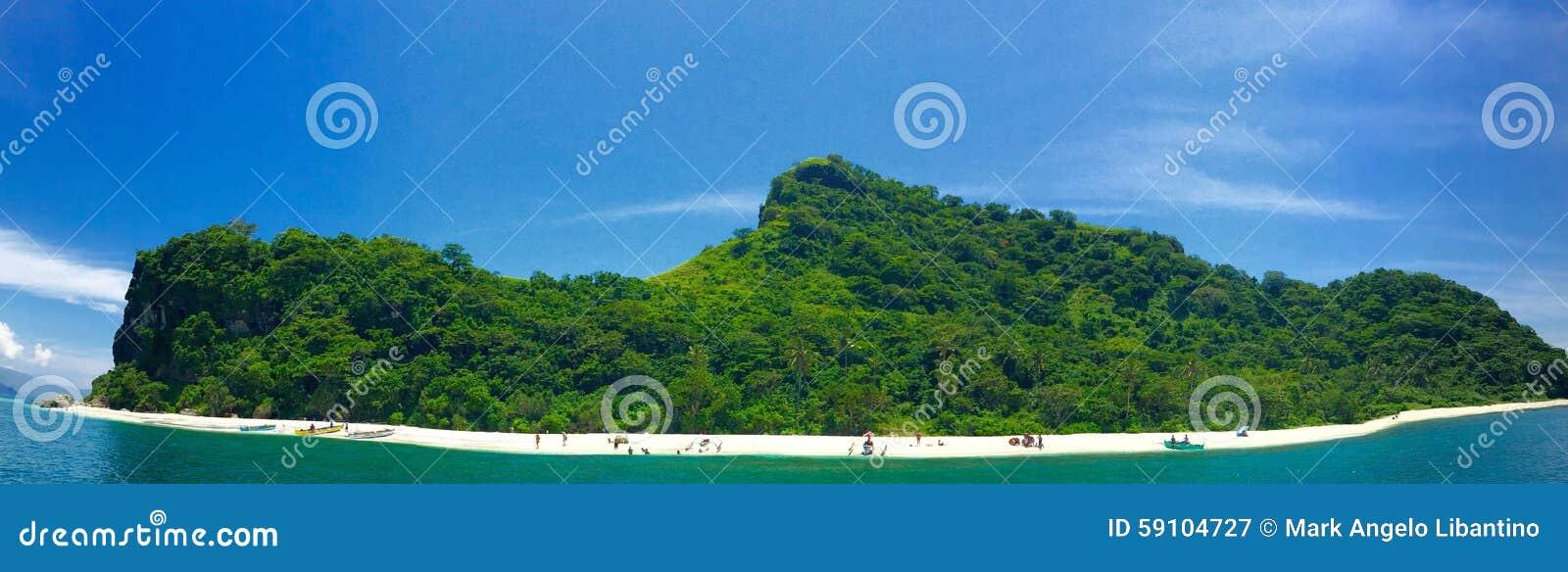 鞋子形状的海岛
