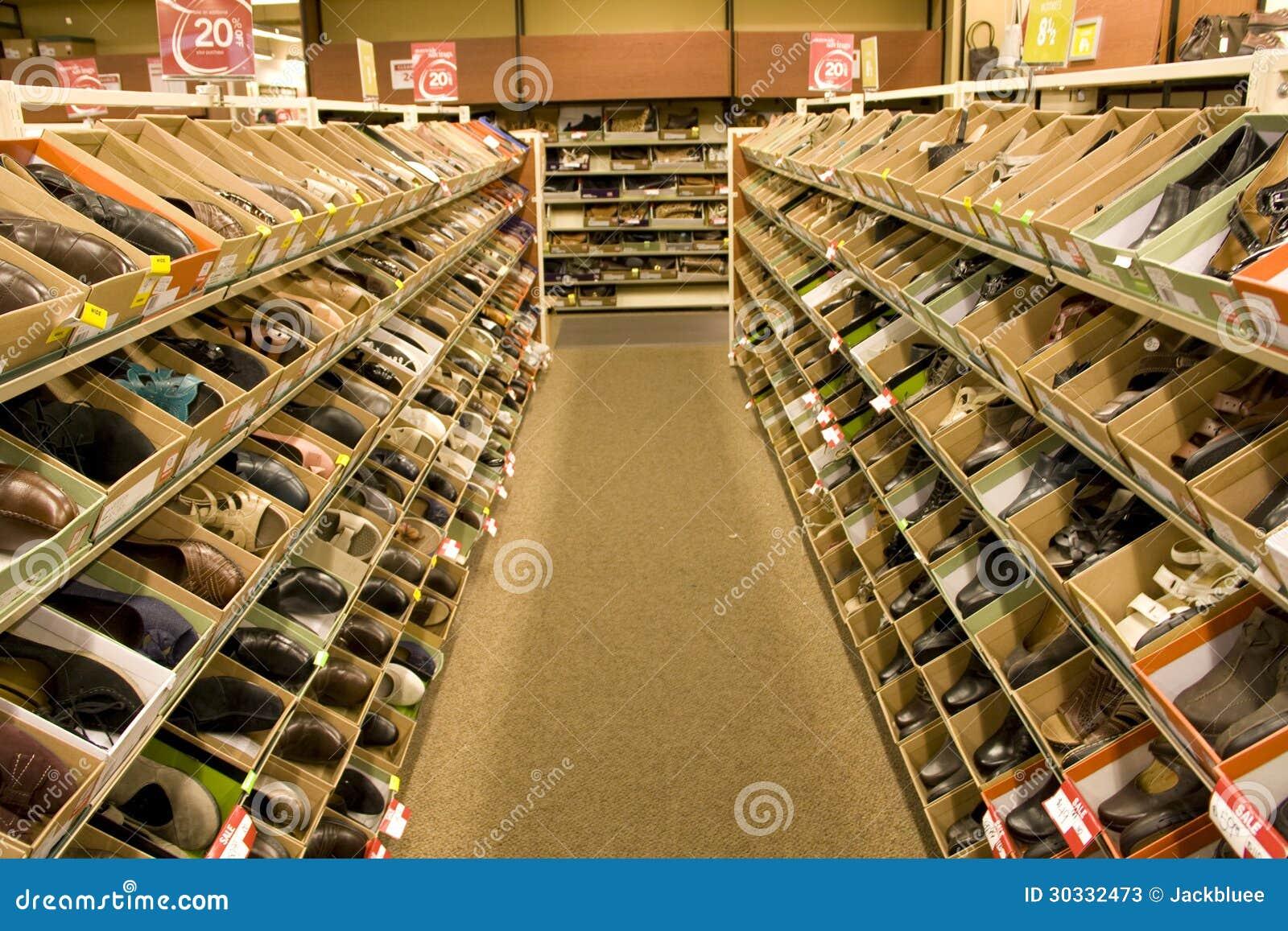 鞋子时尚商店