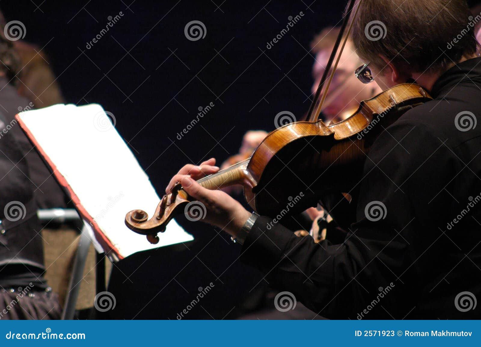 音乐会小提琴手