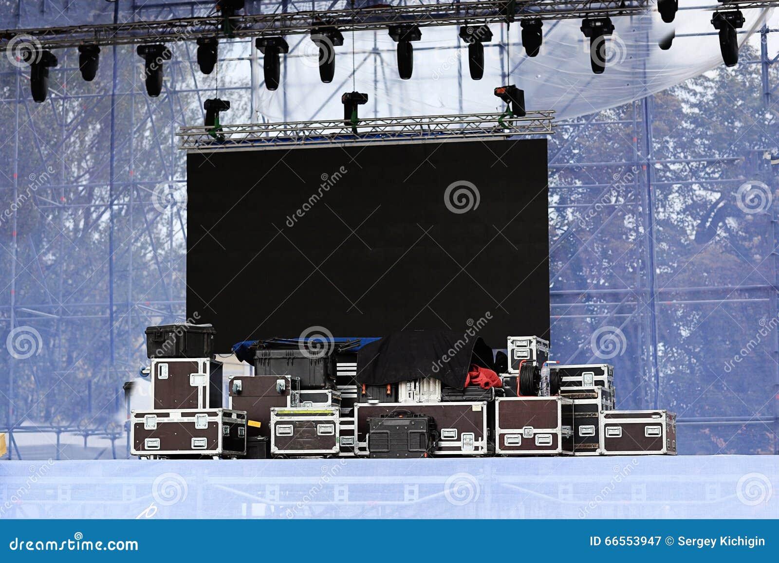 音乐会的设备