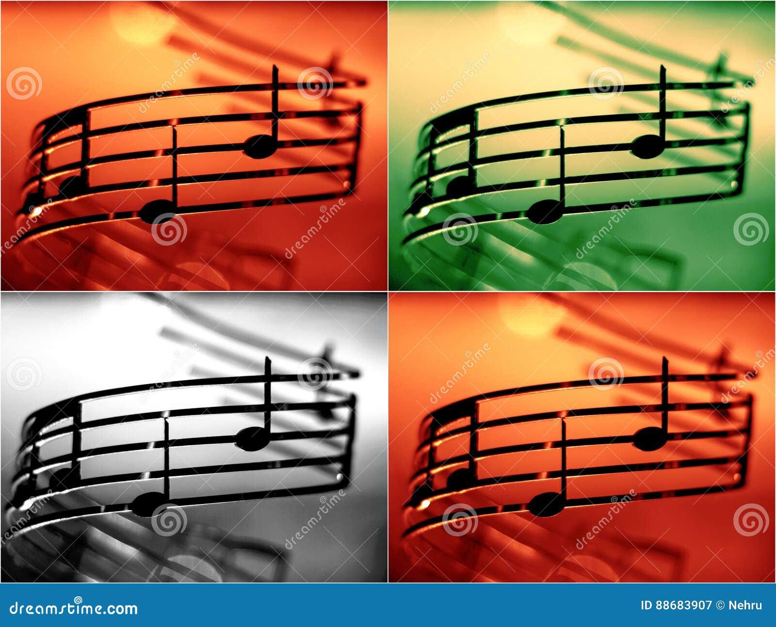 音乐注意浅dof,增加的颜色作用