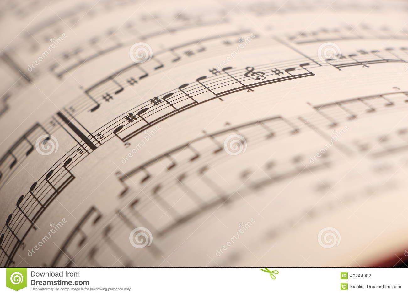 2音乐纸张