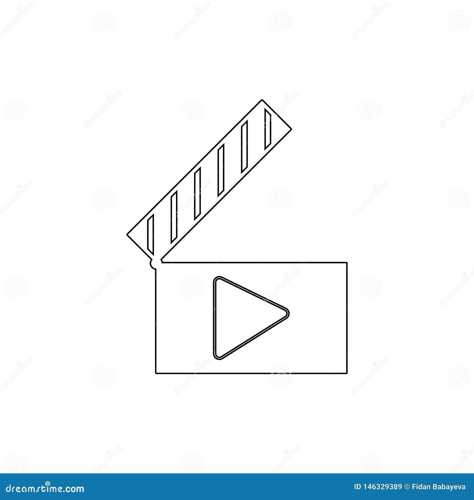 音频拍板影片电影戏剧场面录影概述象 E