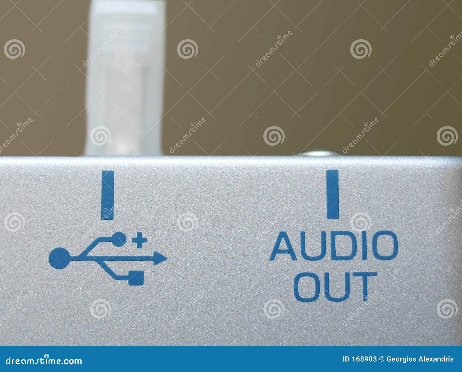 音频端口usb