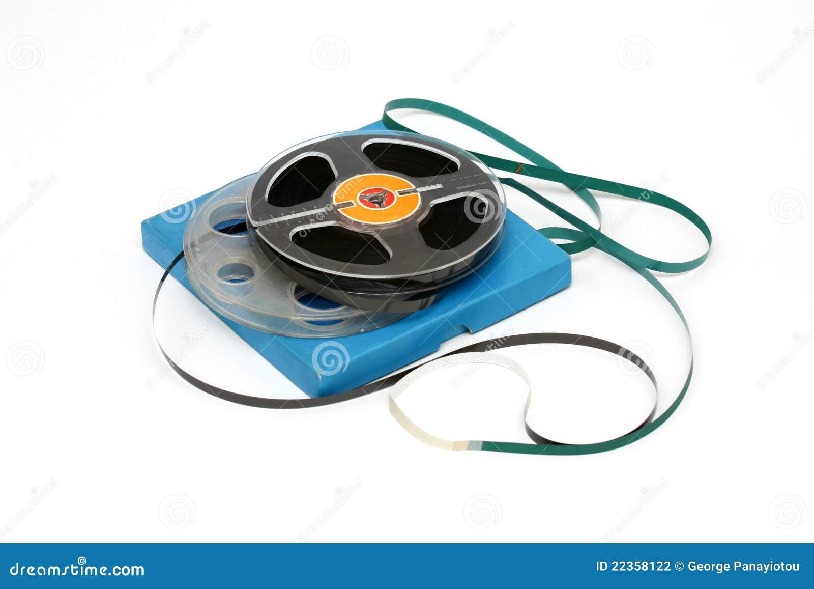 音频老短管轴磁带