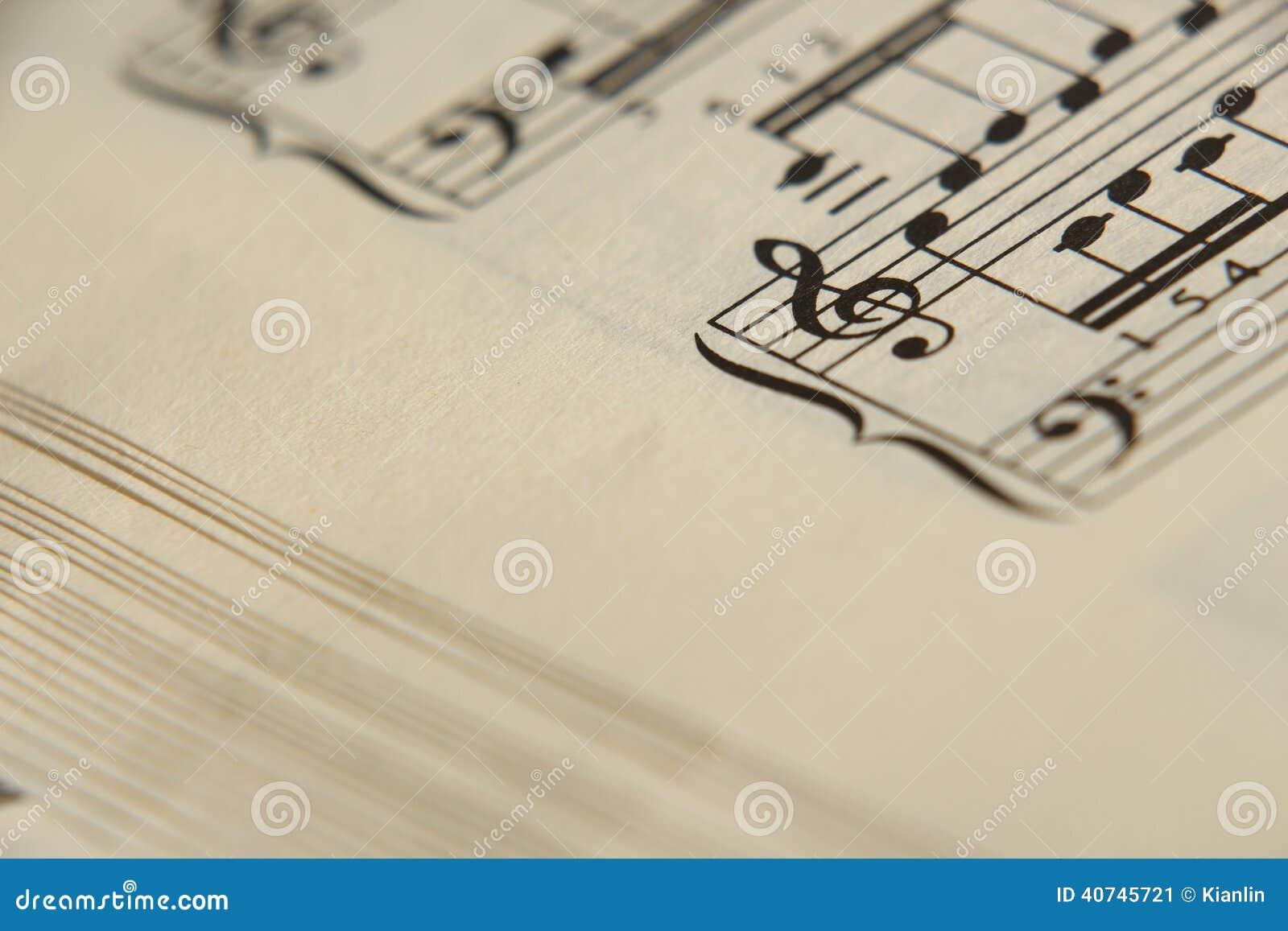 活页乐谱5