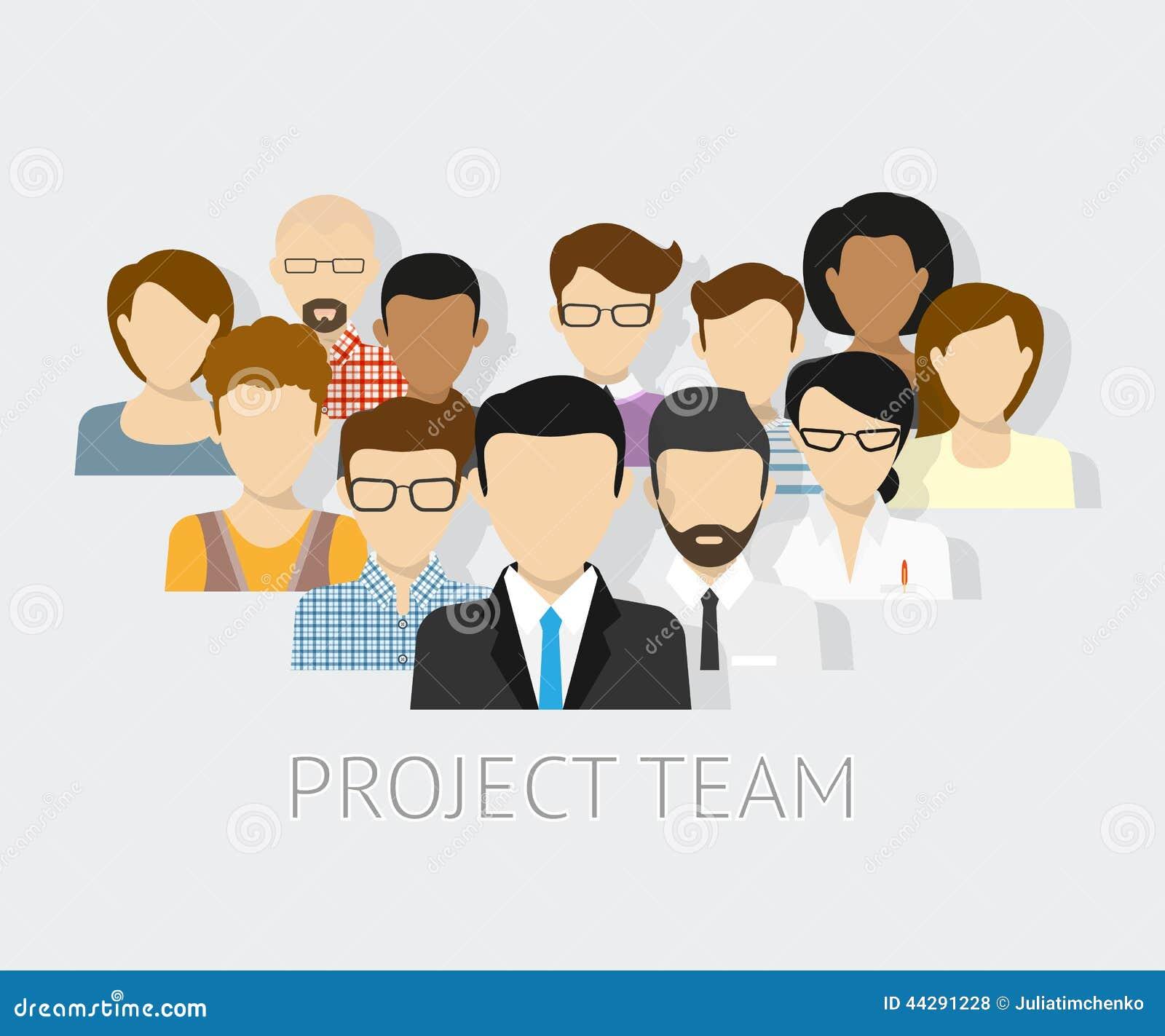 项目小组具体化