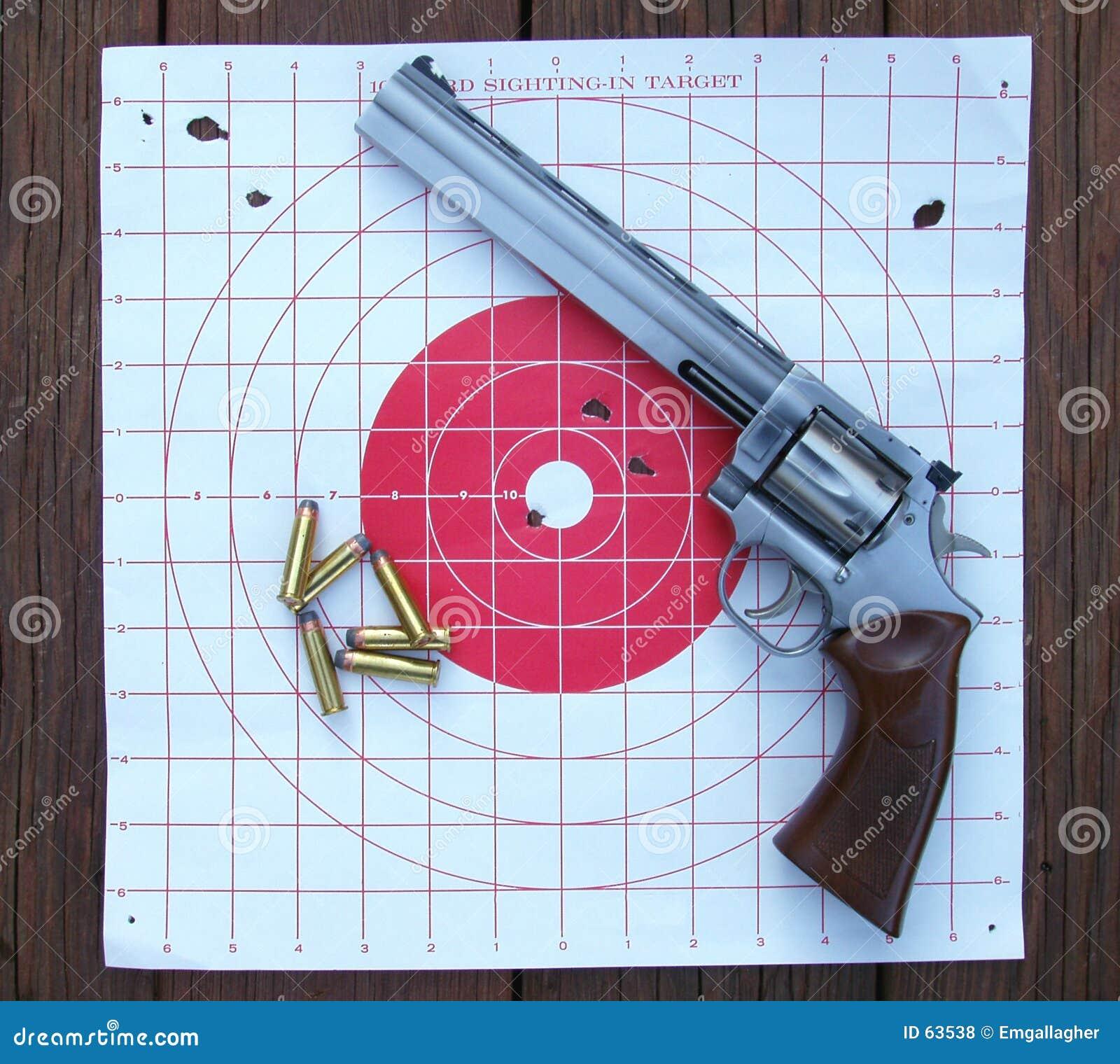 项目符号左轮手枪目标