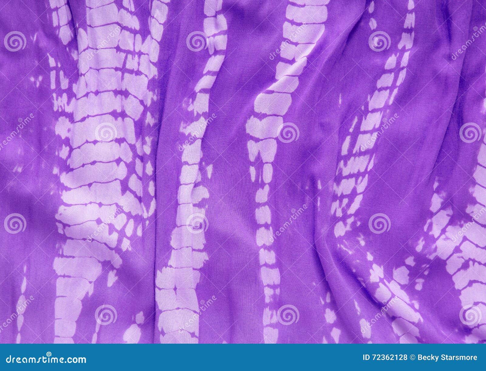 领带染料织品特写镜头