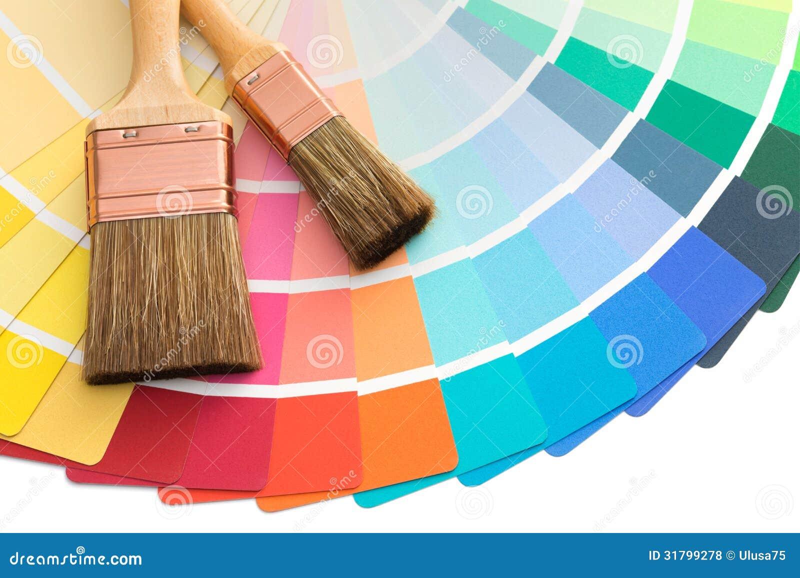 颜色与刷子的pallette指南