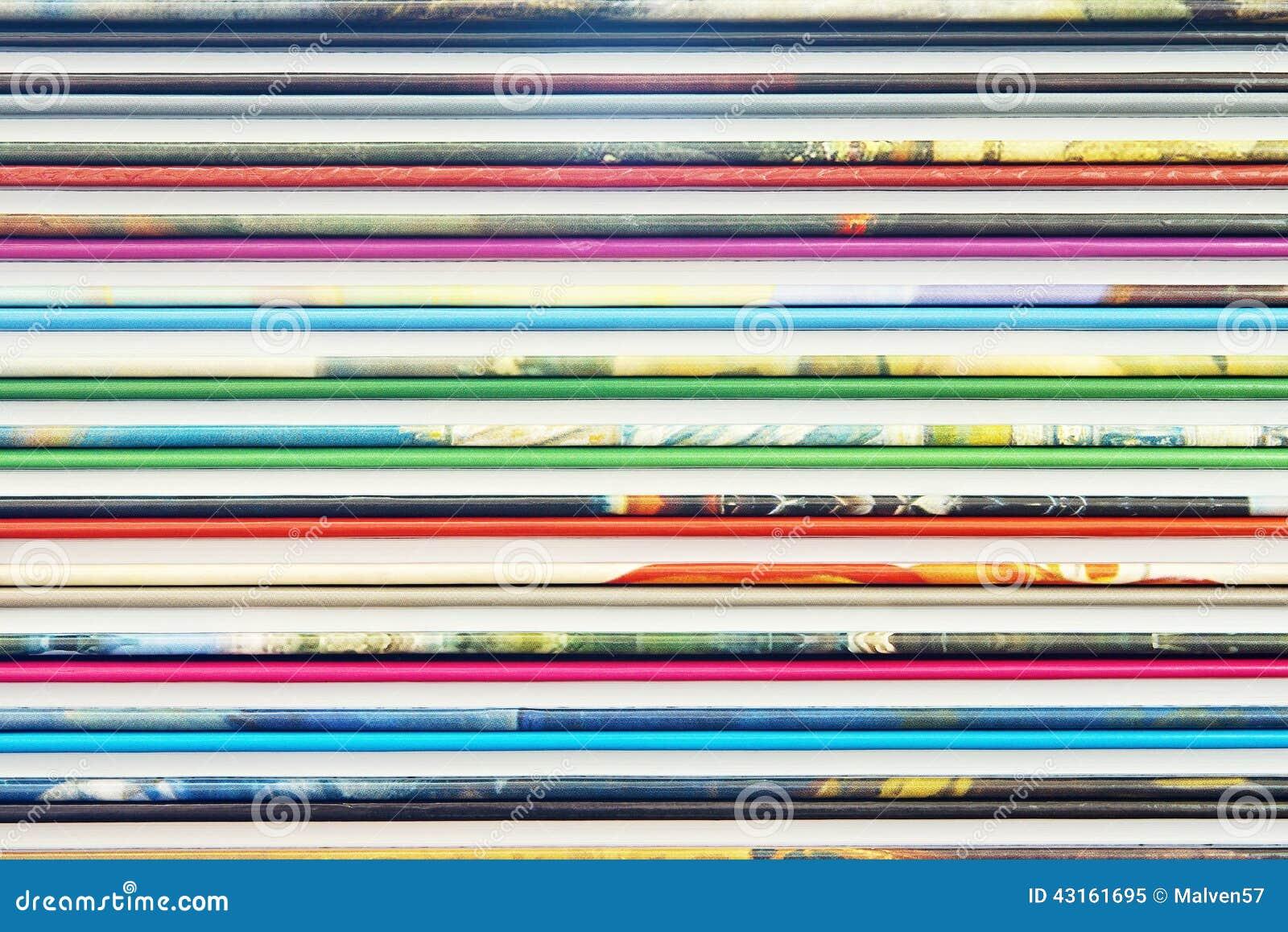 从颜色书套的抽象背景