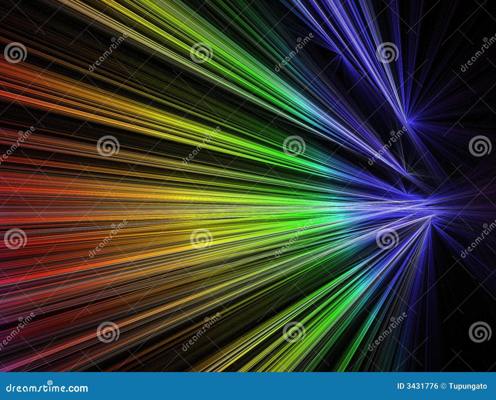 颜色分数维彩虹速度