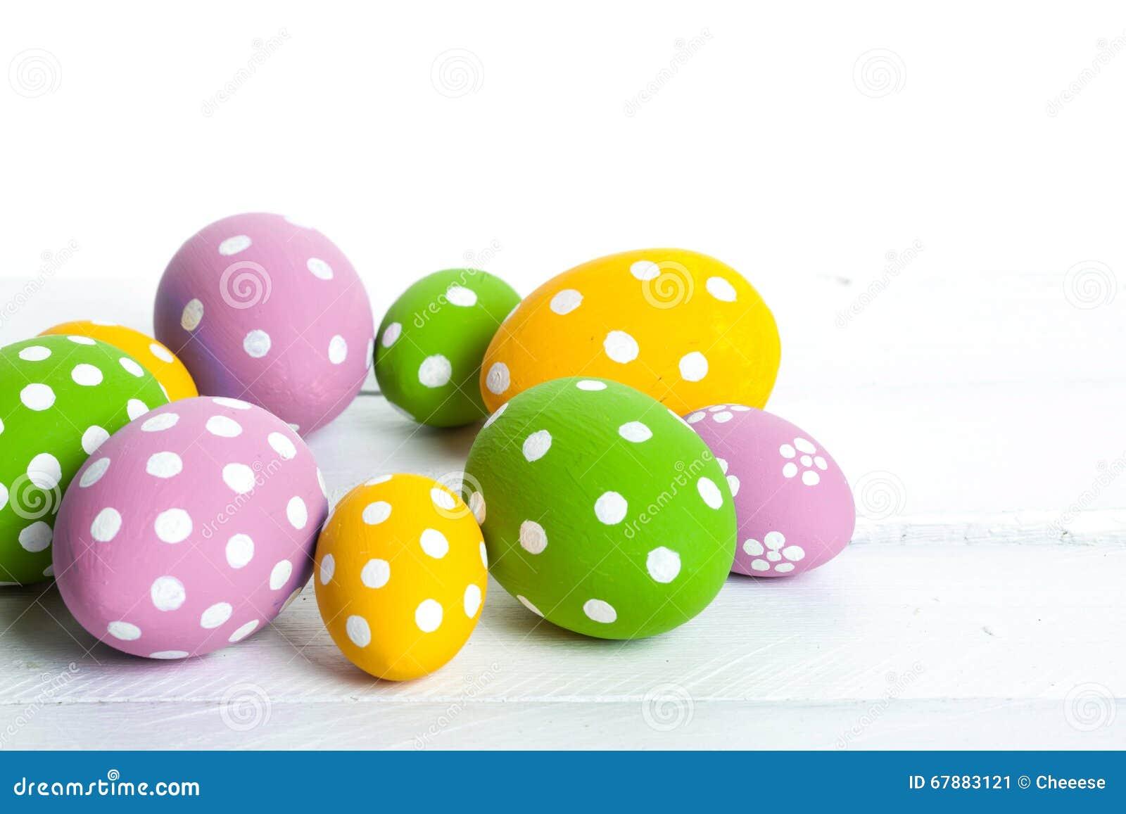 颜色复活节彩蛋节假日
