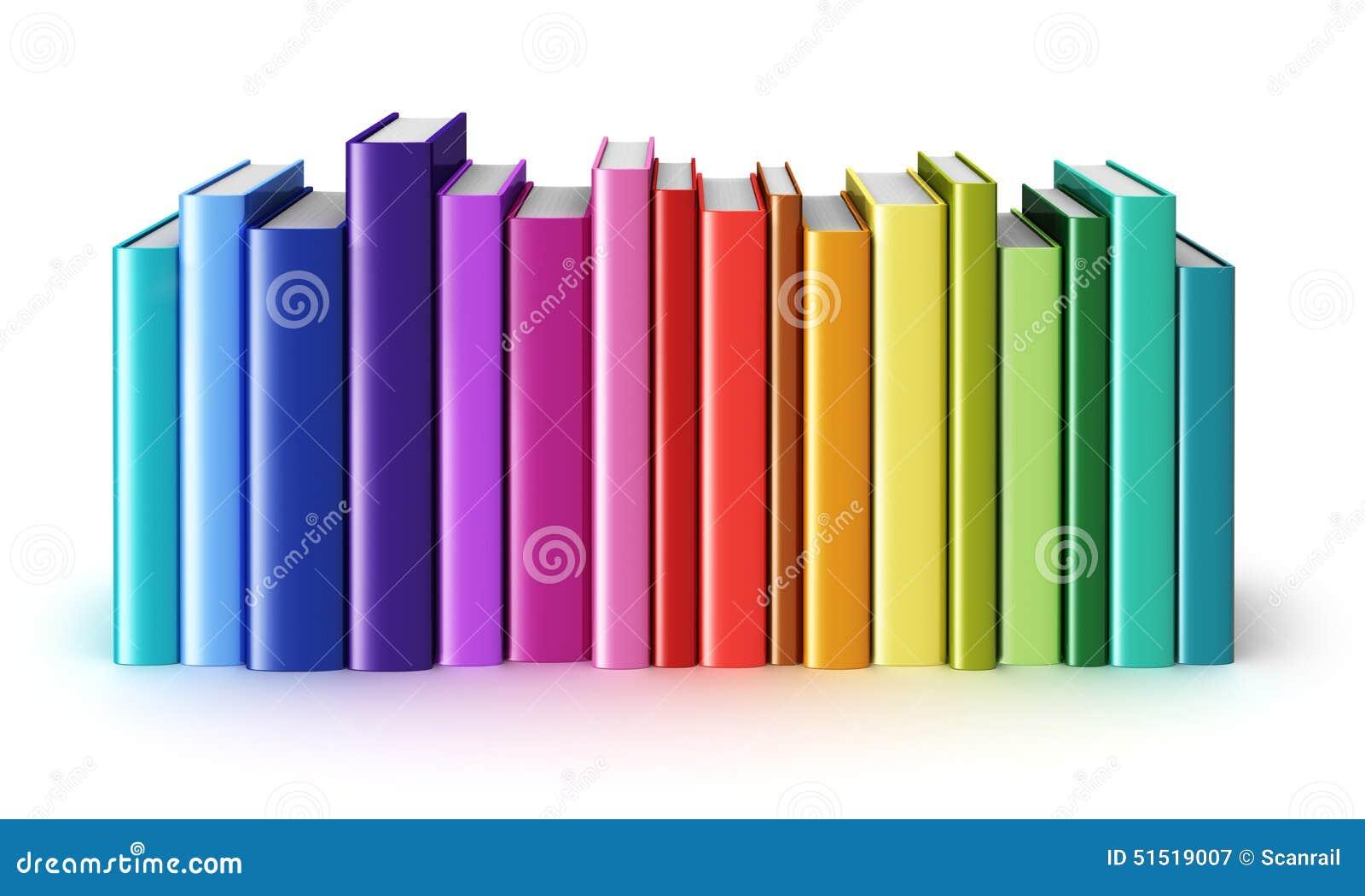 颜色精装书