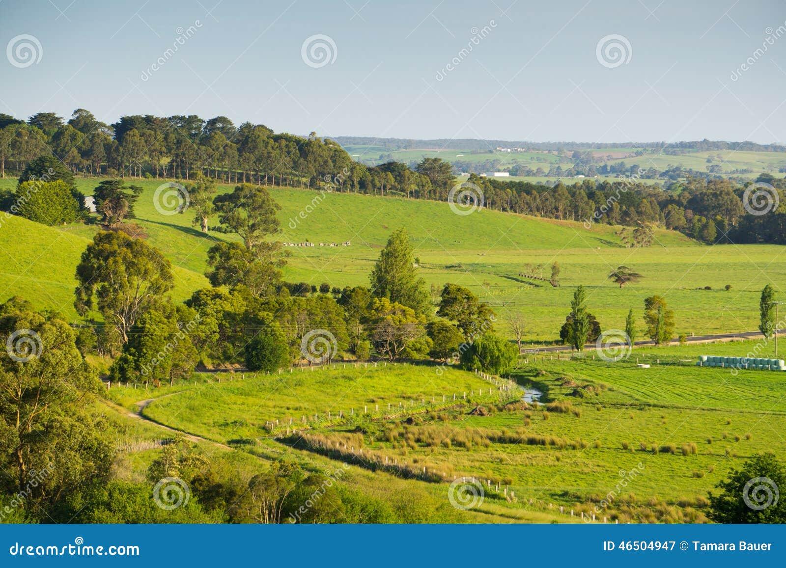 风景农村澳大利亚