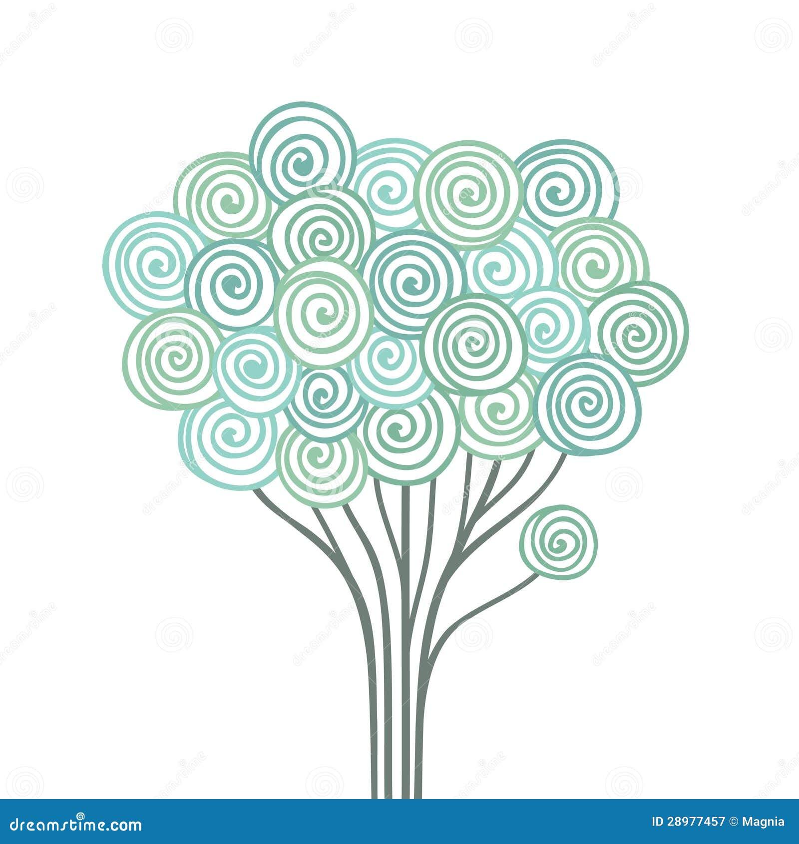 风格化结构树