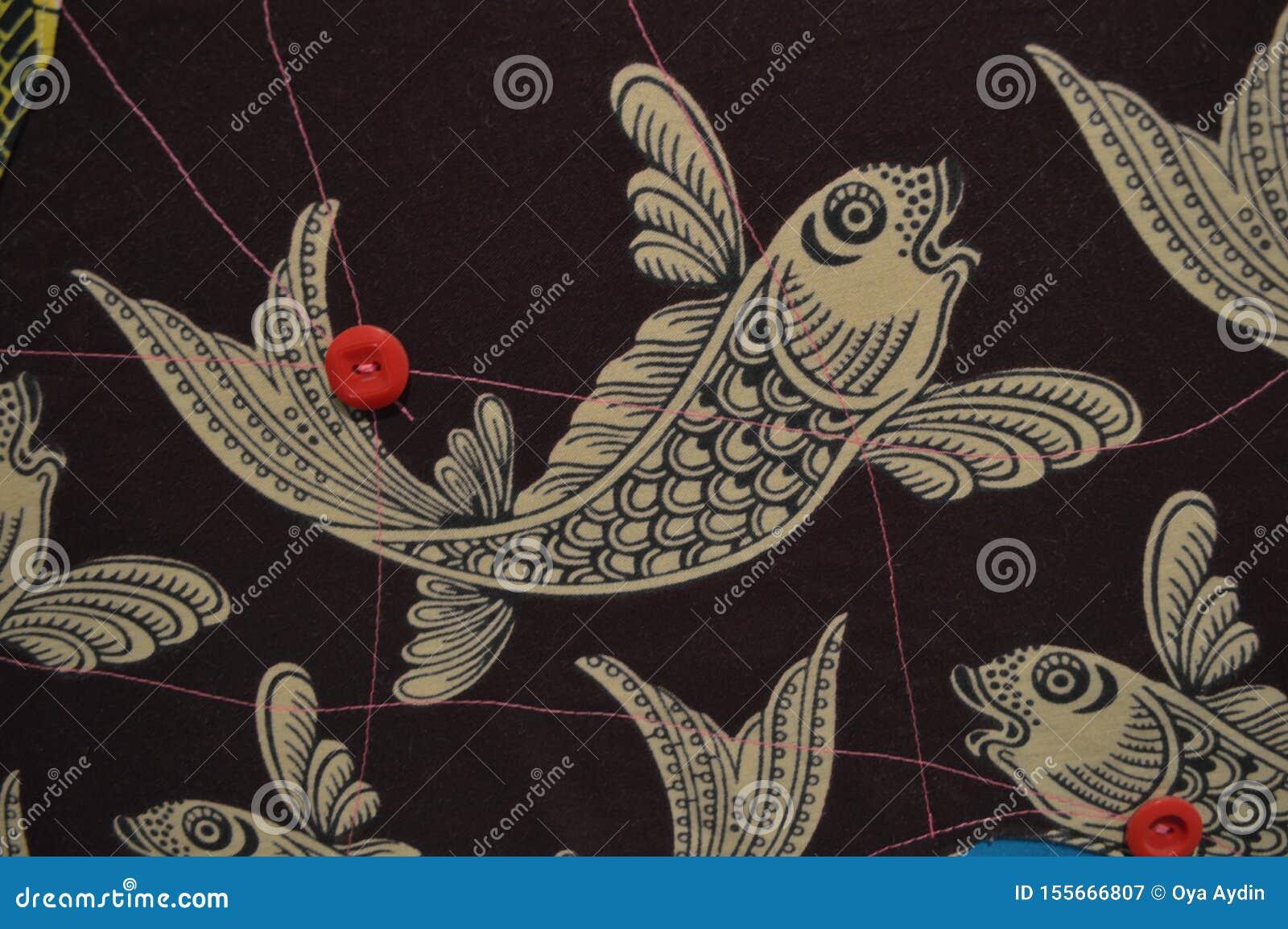 风格化鱼形象