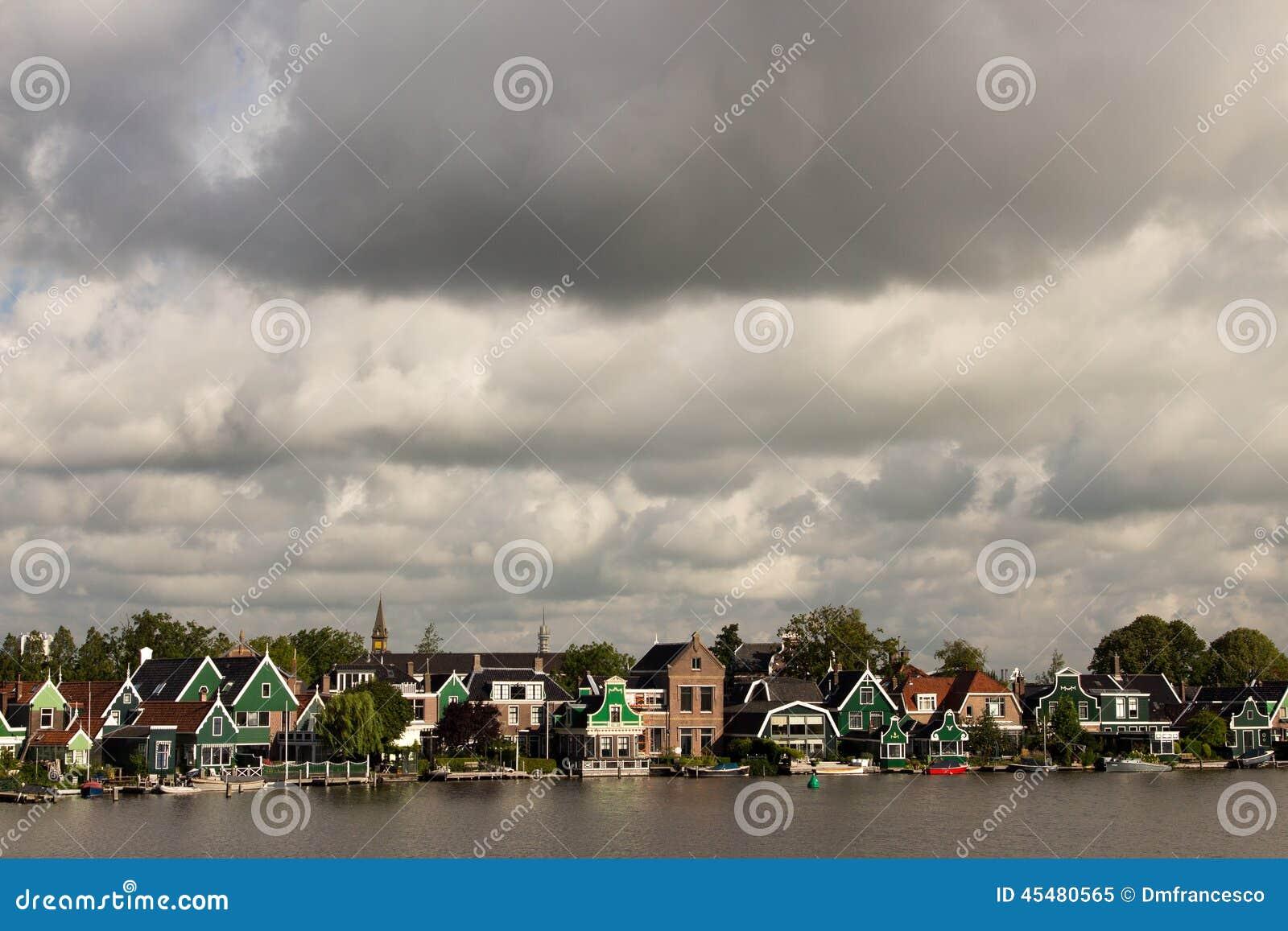 风车抑制在北海彼德森荷兰的障碍