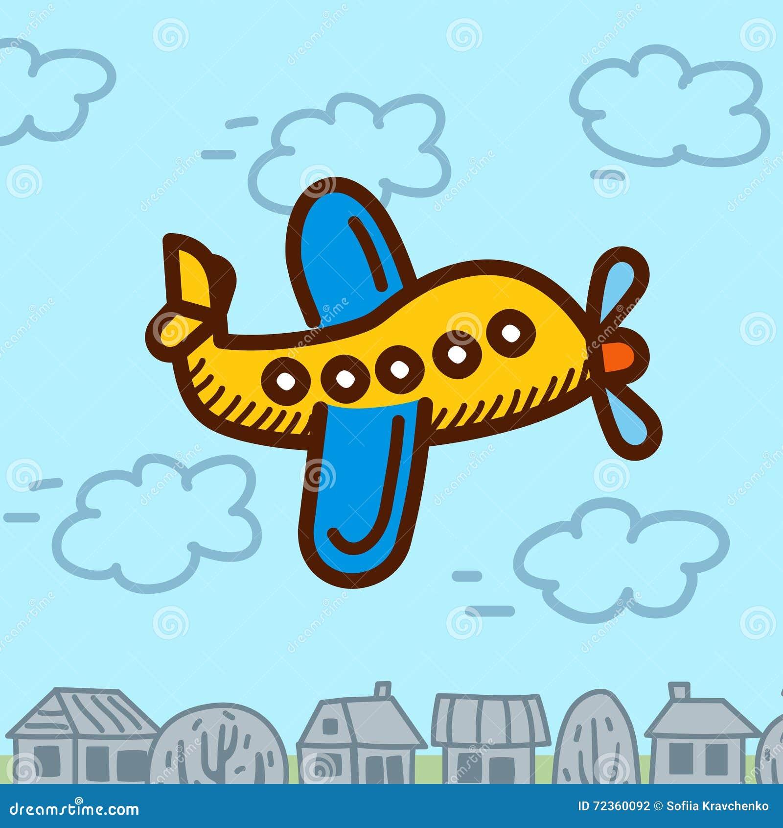 飞机动画片