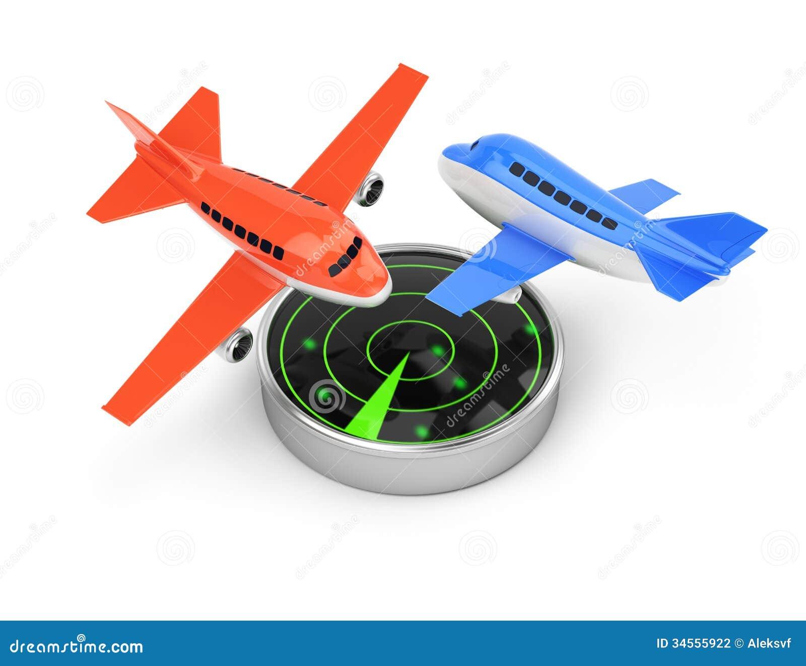 飞机和雷达