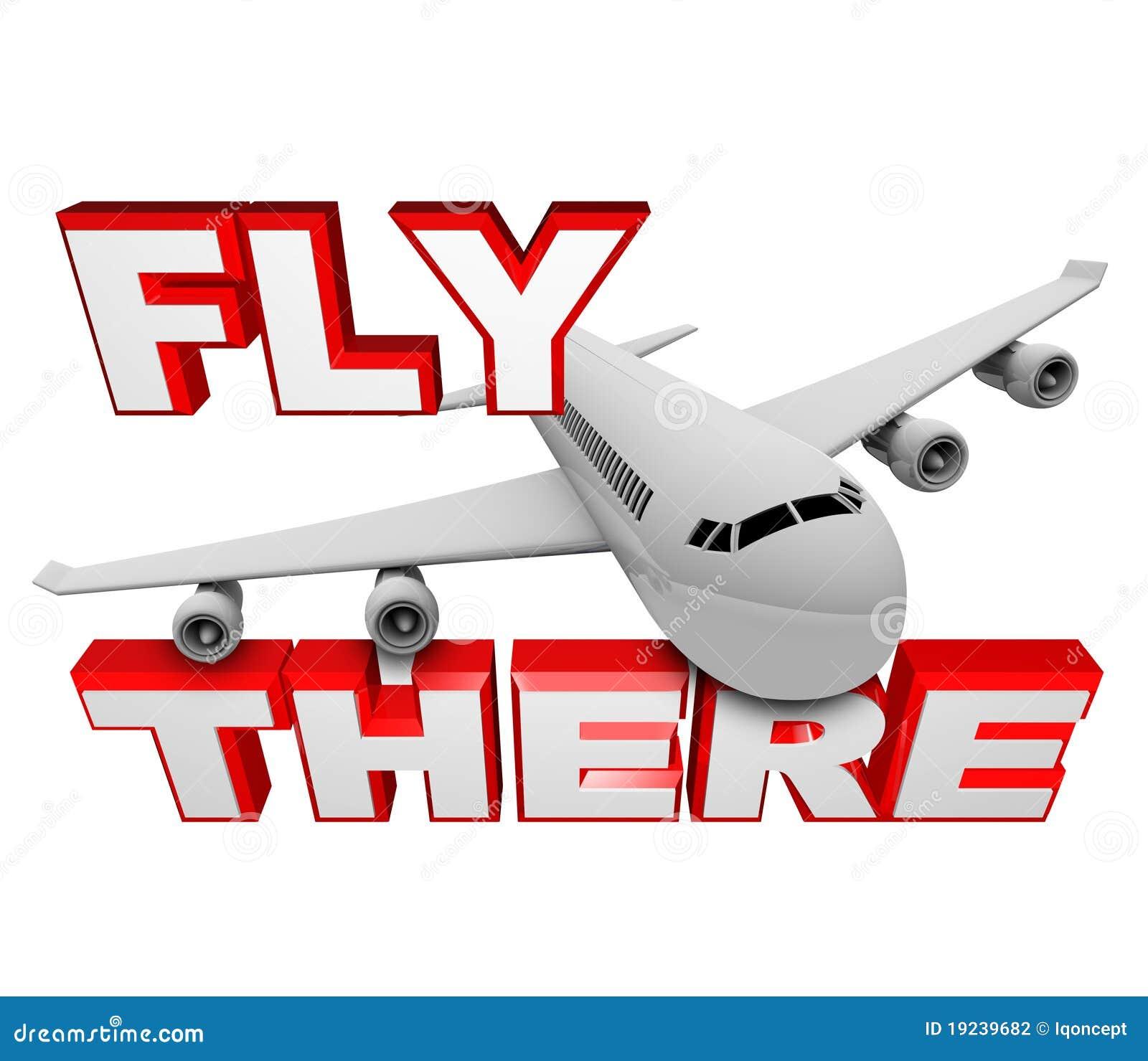 飞机那里飞行喷气机移动字