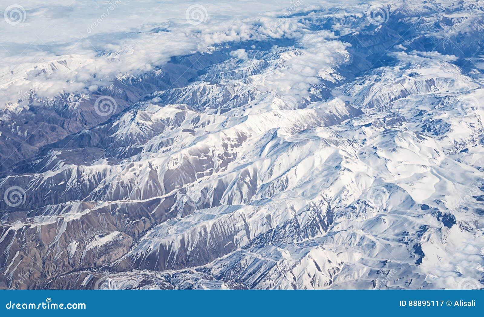 飞机阿富汗山wtop视图看法盖与