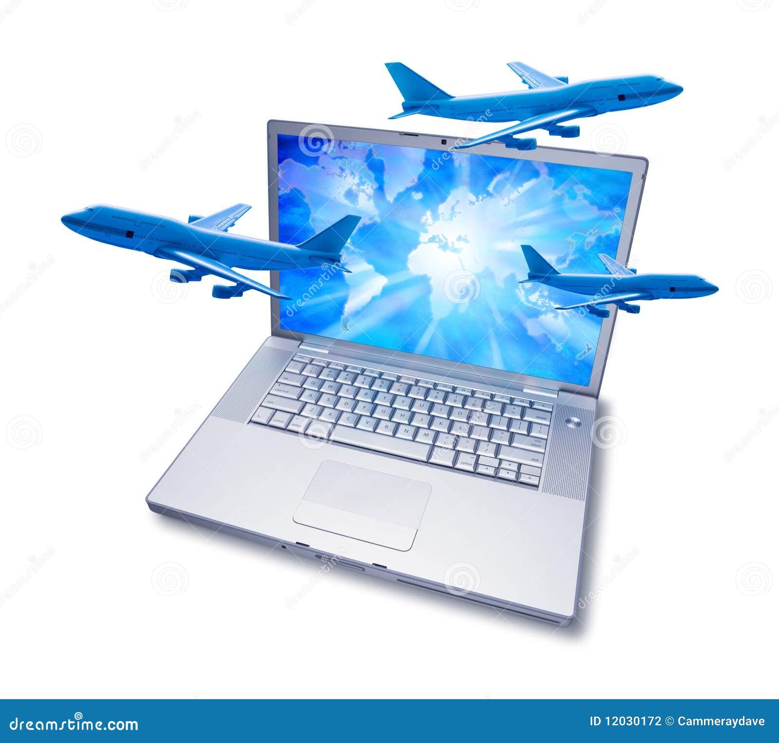 飞机预订计算机在线旅行