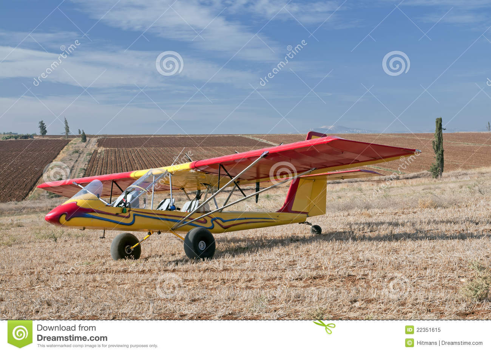 飞机jezreel超轻型的谷
