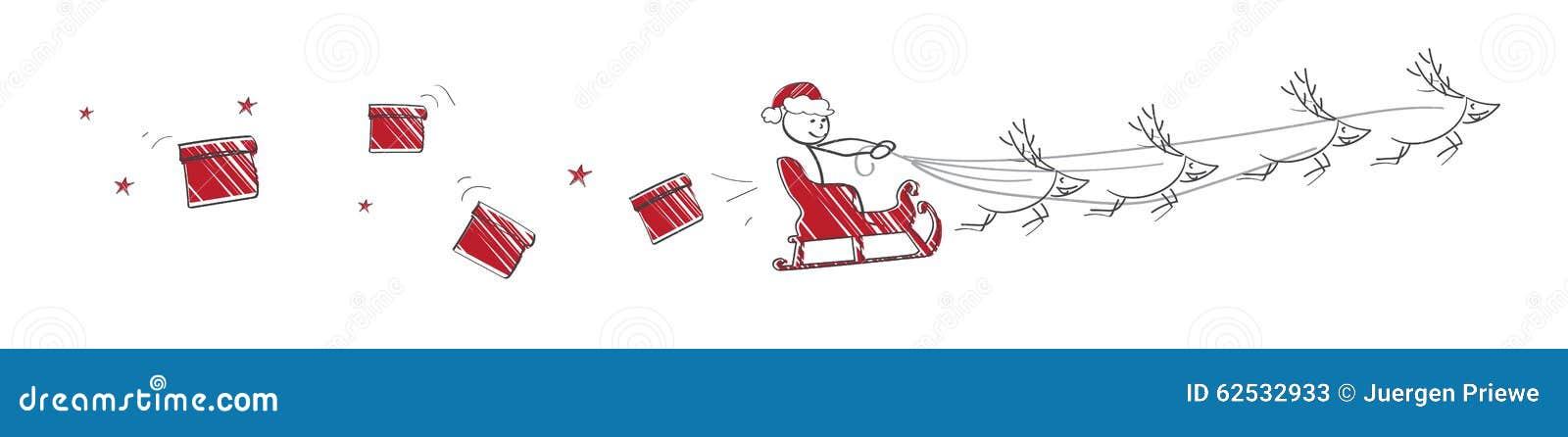 飞行圣诞老人