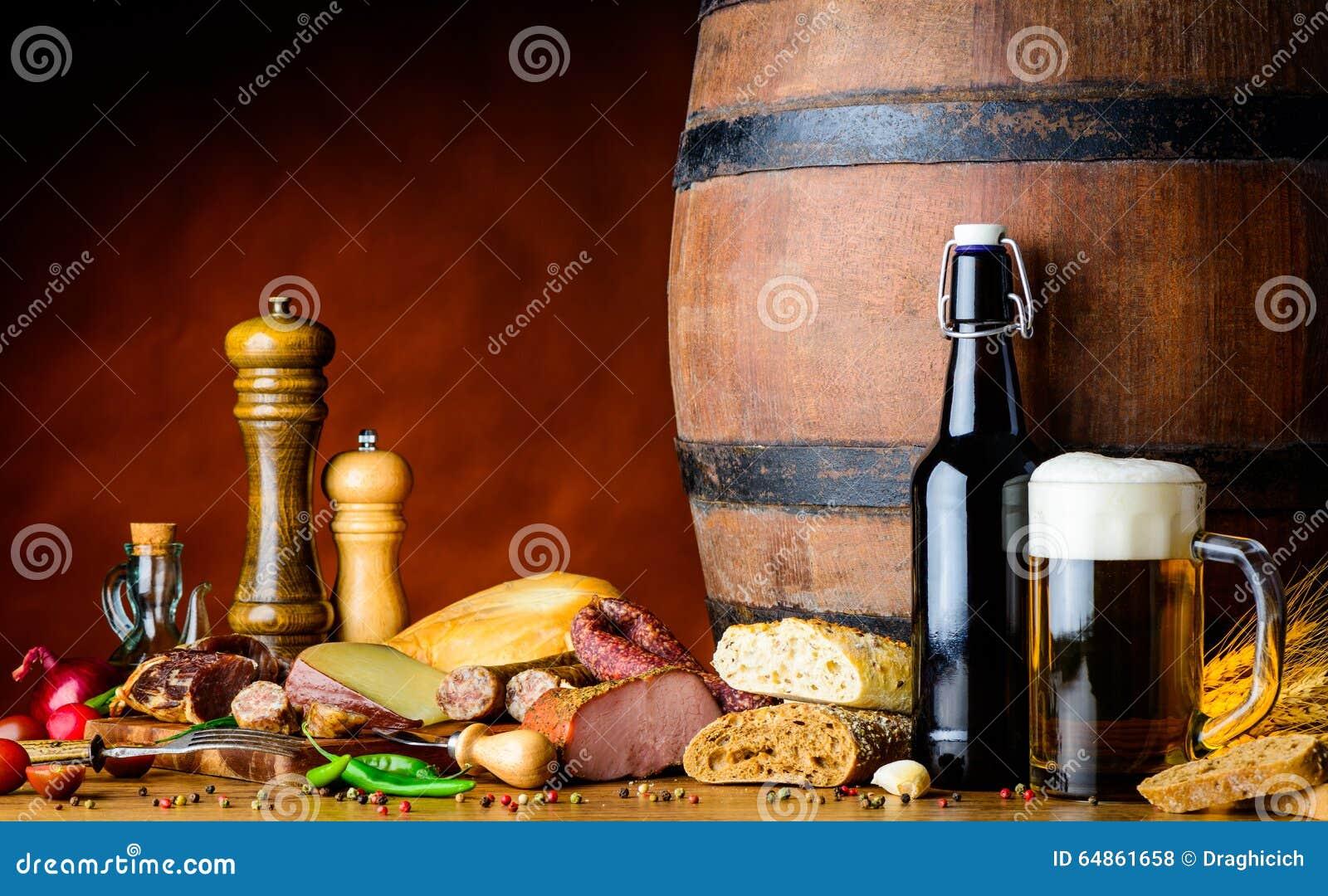 食物和啤酒