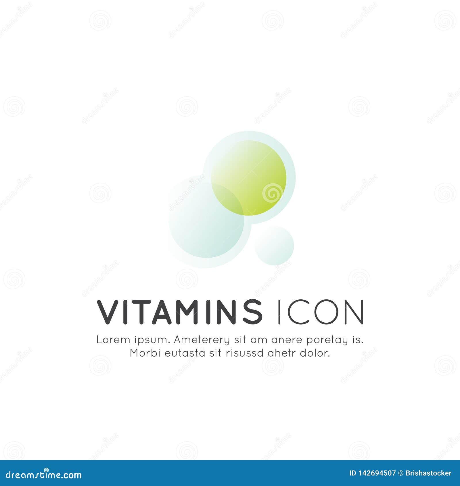 食物补充商标、成份和维生素和元素生物包裹标签的,自然保健品为健康设计