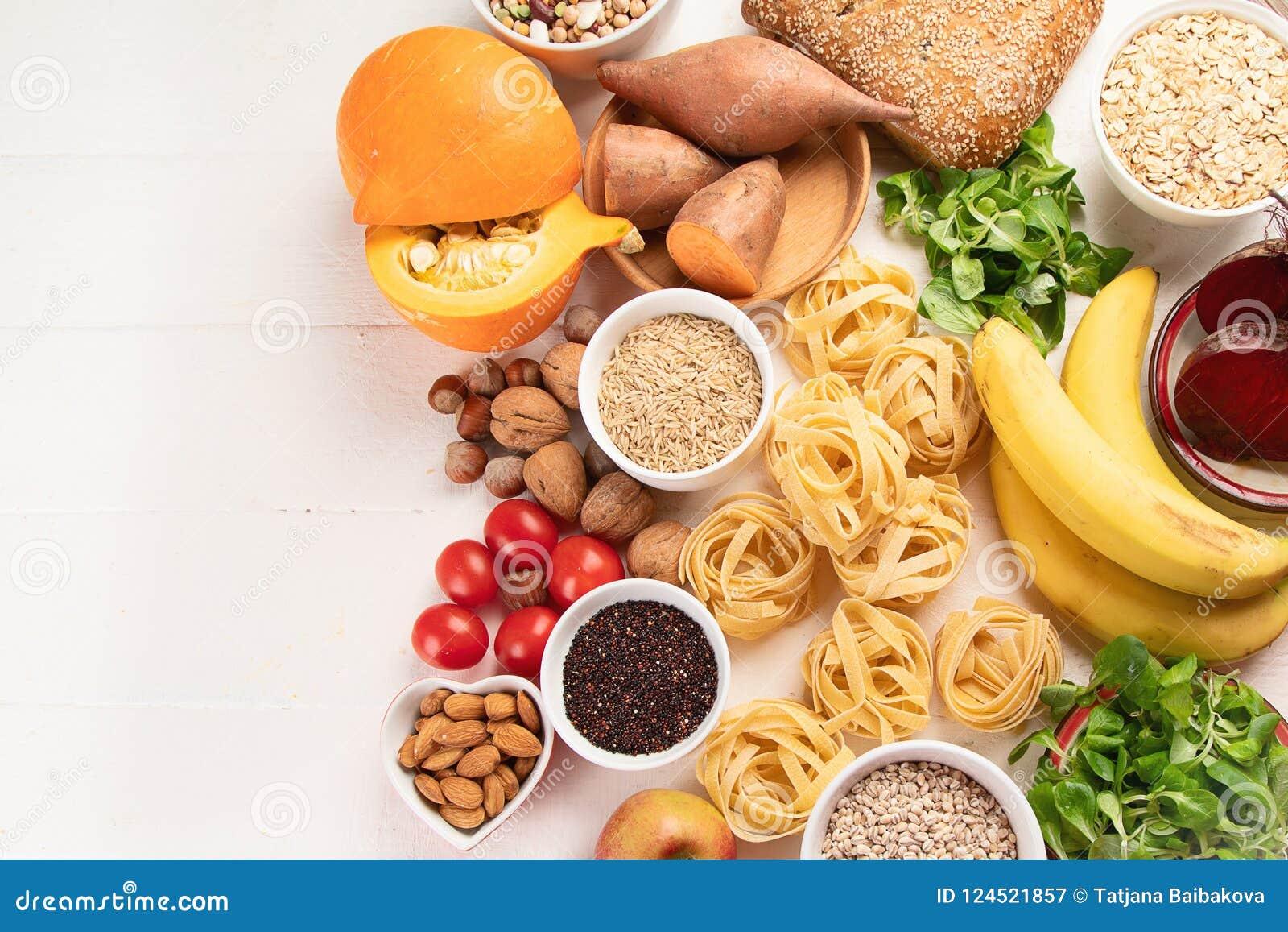 食物高在碳水化合物
