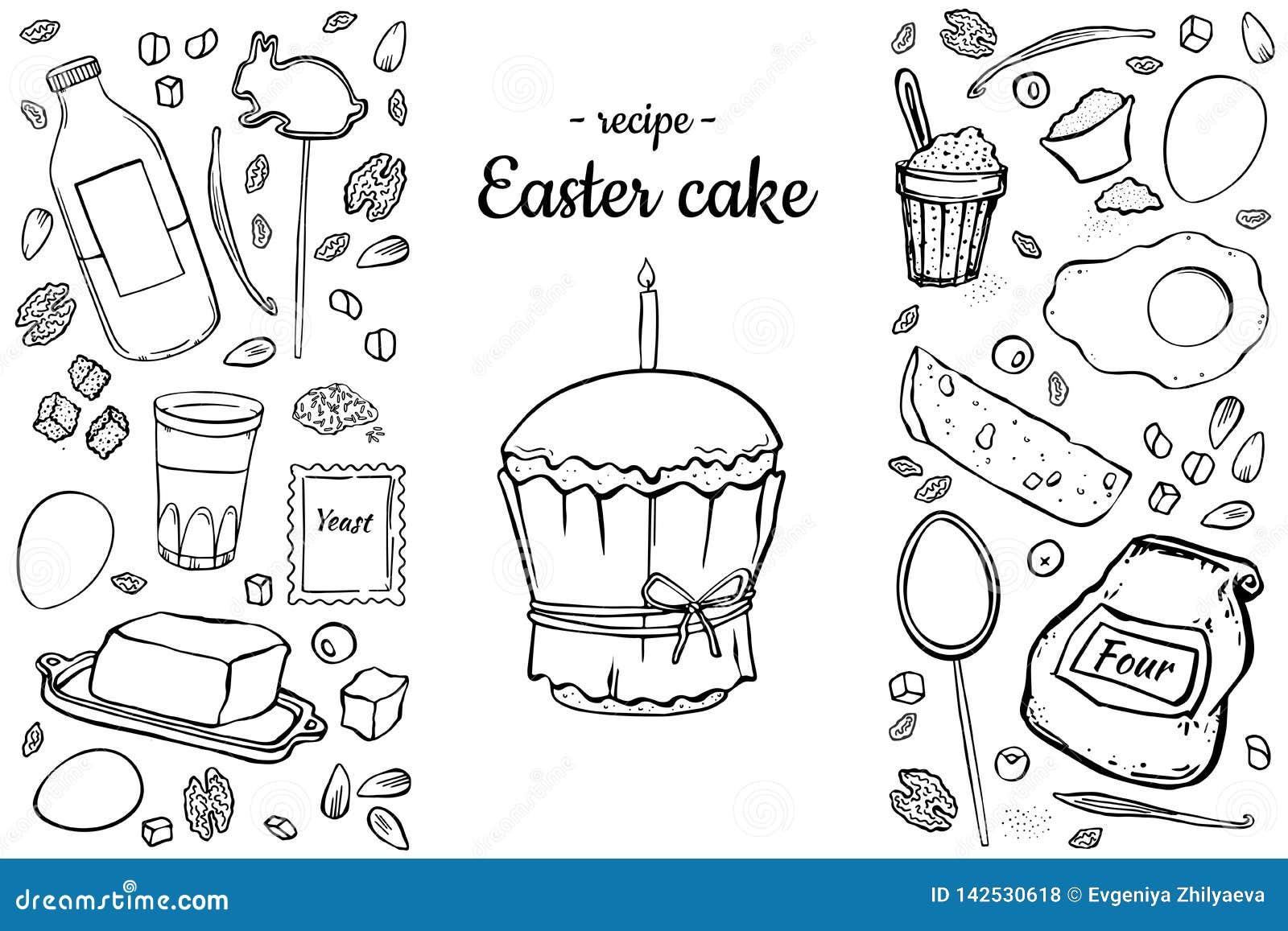 食谱复活节蛋糕
