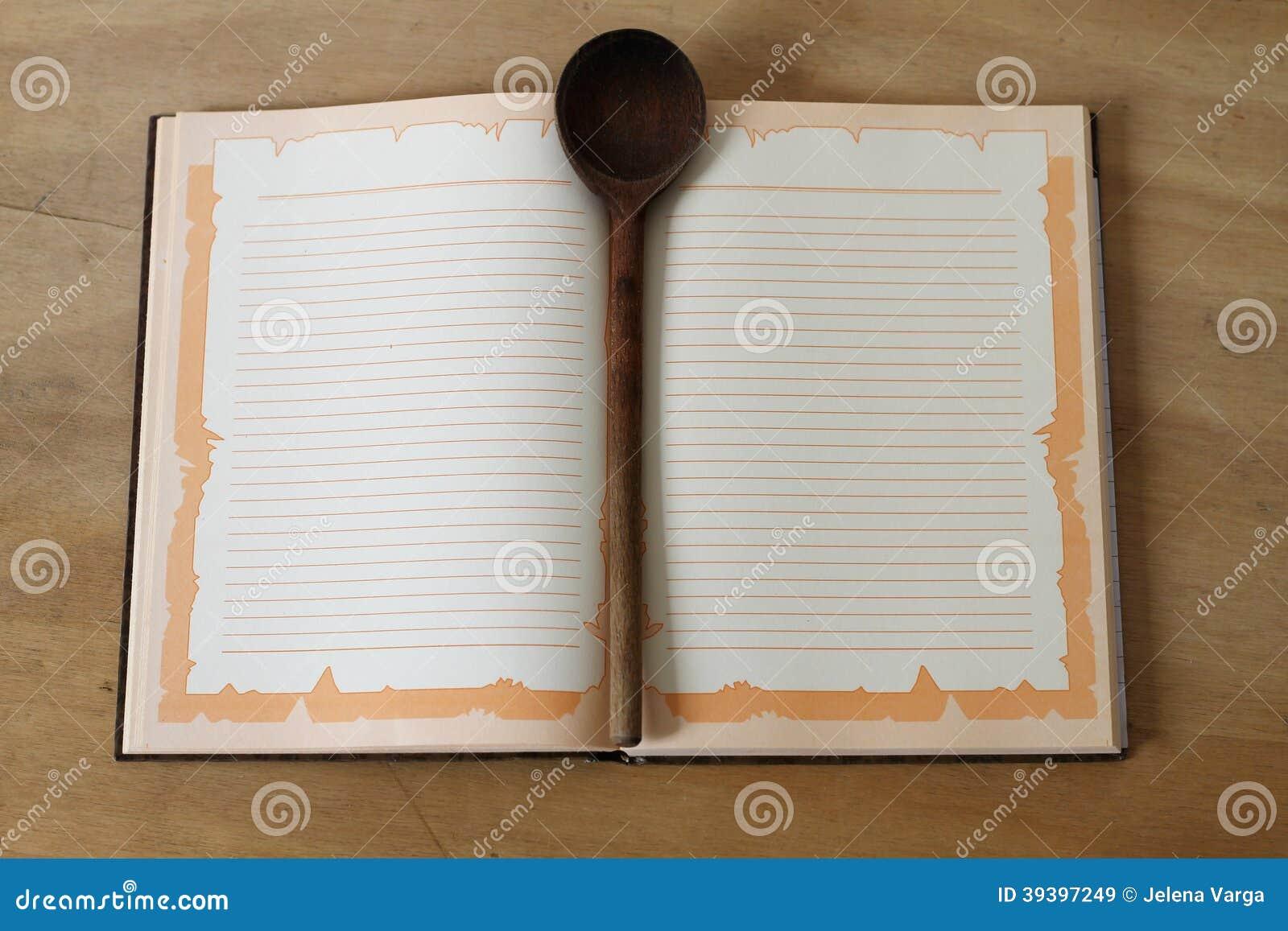 食谱的笔记本