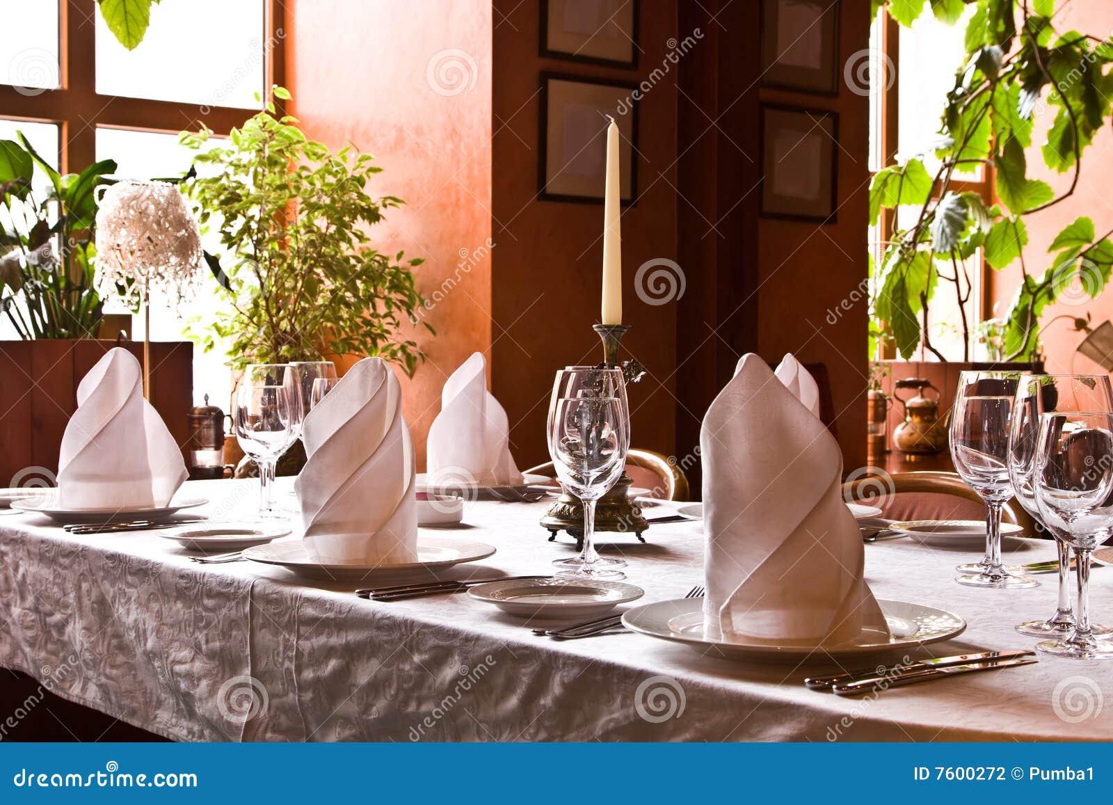 餐馆服务的表