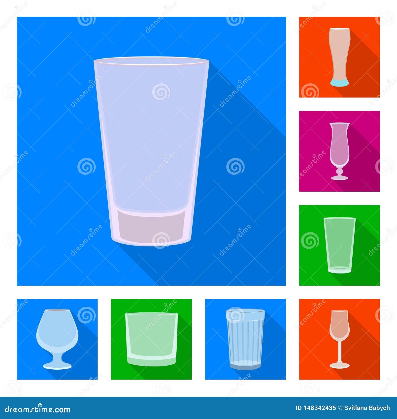 饮料和餐馆标志的传染媒介例证 设置饮料和庆祝传染媒介象股票的