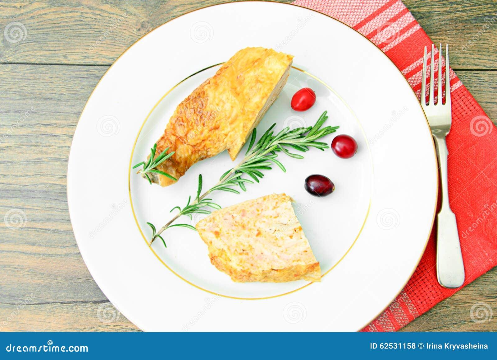 饮食和健康食物:被充塞的鸡与