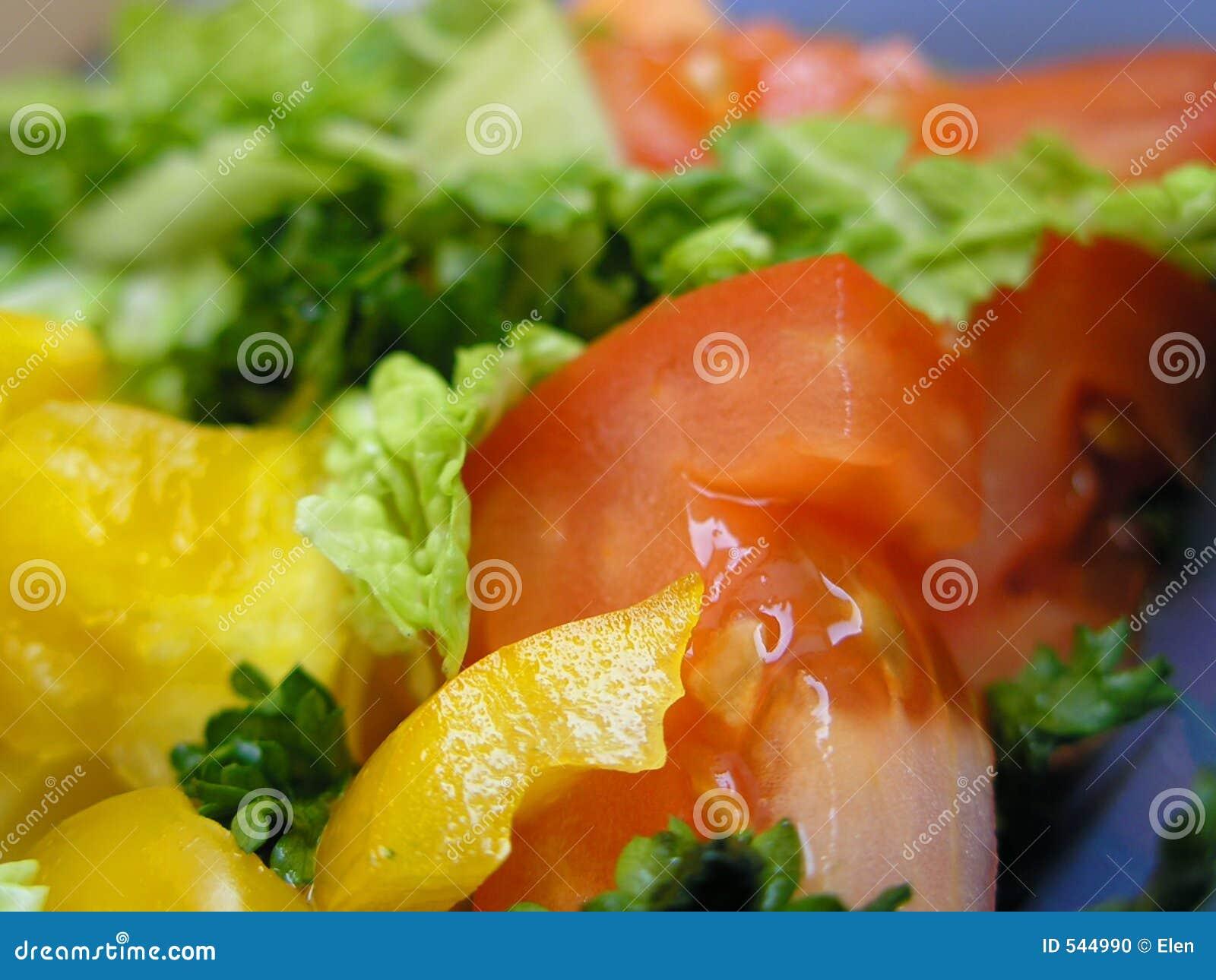 Download 饮食成份沙拉 库存照片. 图片 包括有 春天, 荷兰芹, 关闭, 沙拉, 健康, 黄色, 胡椒, 可口, 附属程序 - 544990