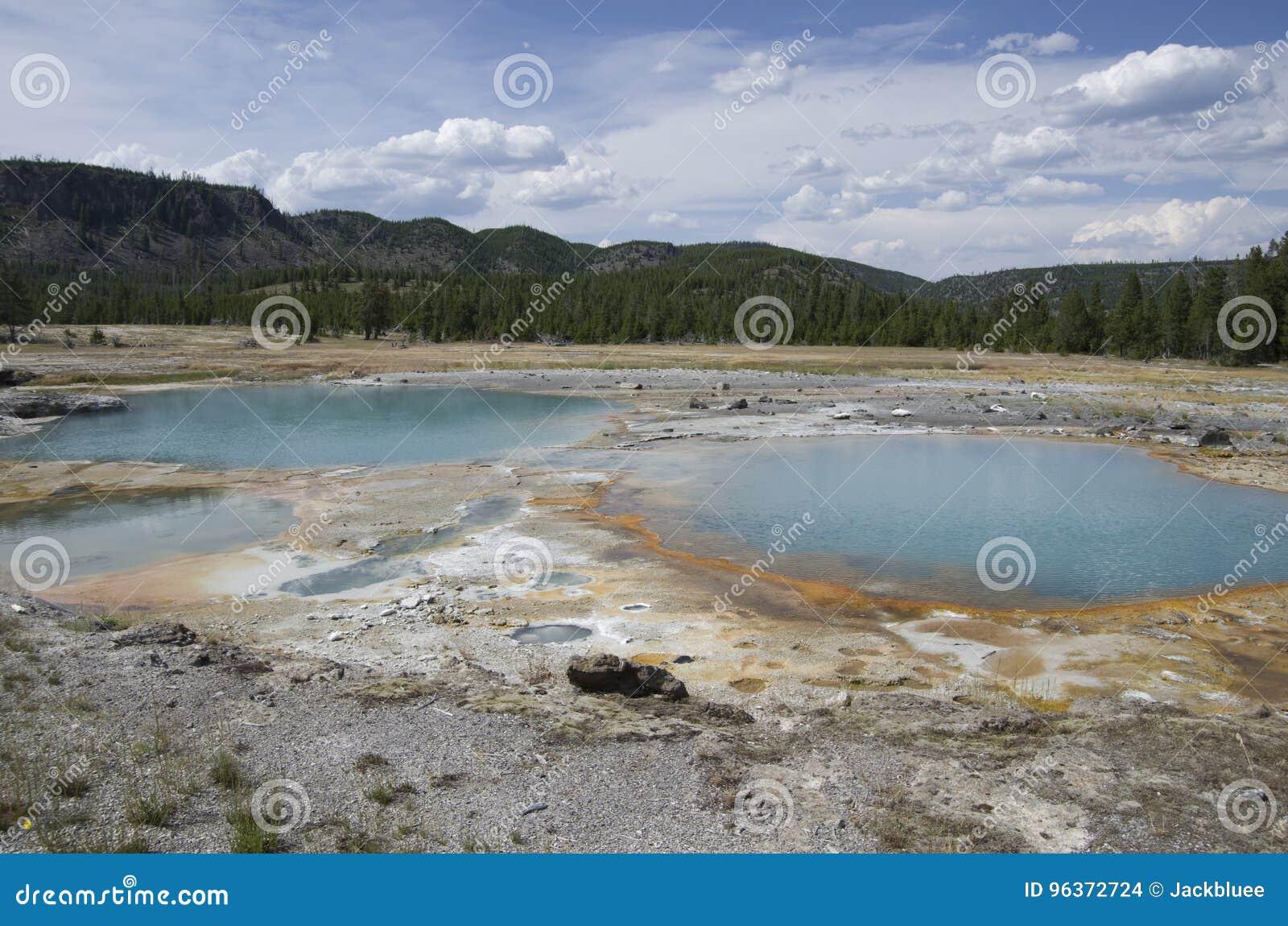饼干水池黄石国家公园
