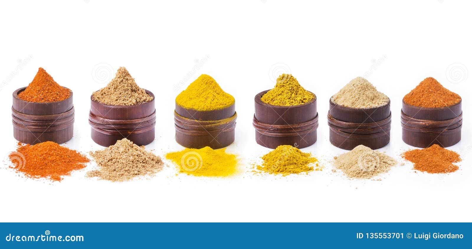 香料、颜色和味道的类型