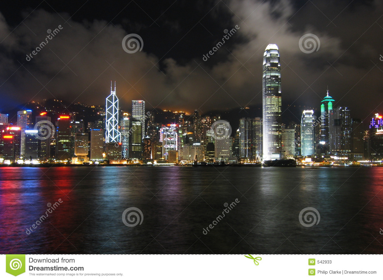 Download 香港晚上 库存图片. 图片 包括有 晚上, 拱道, 地平线, 摩天大楼, kong, 总公司, 财务, 公司 - 542933