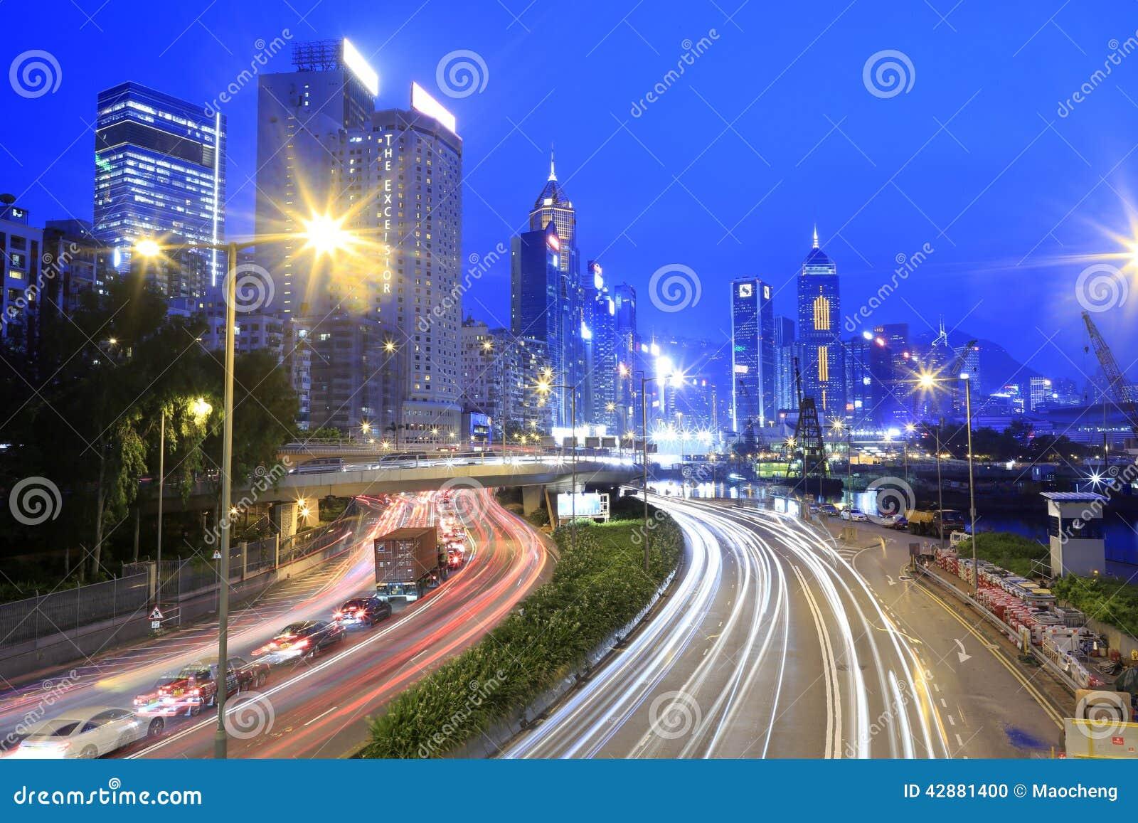 香港铜锣湾夜视域