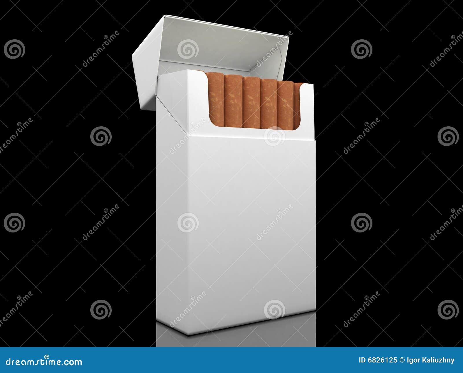 香烟开张装箱
