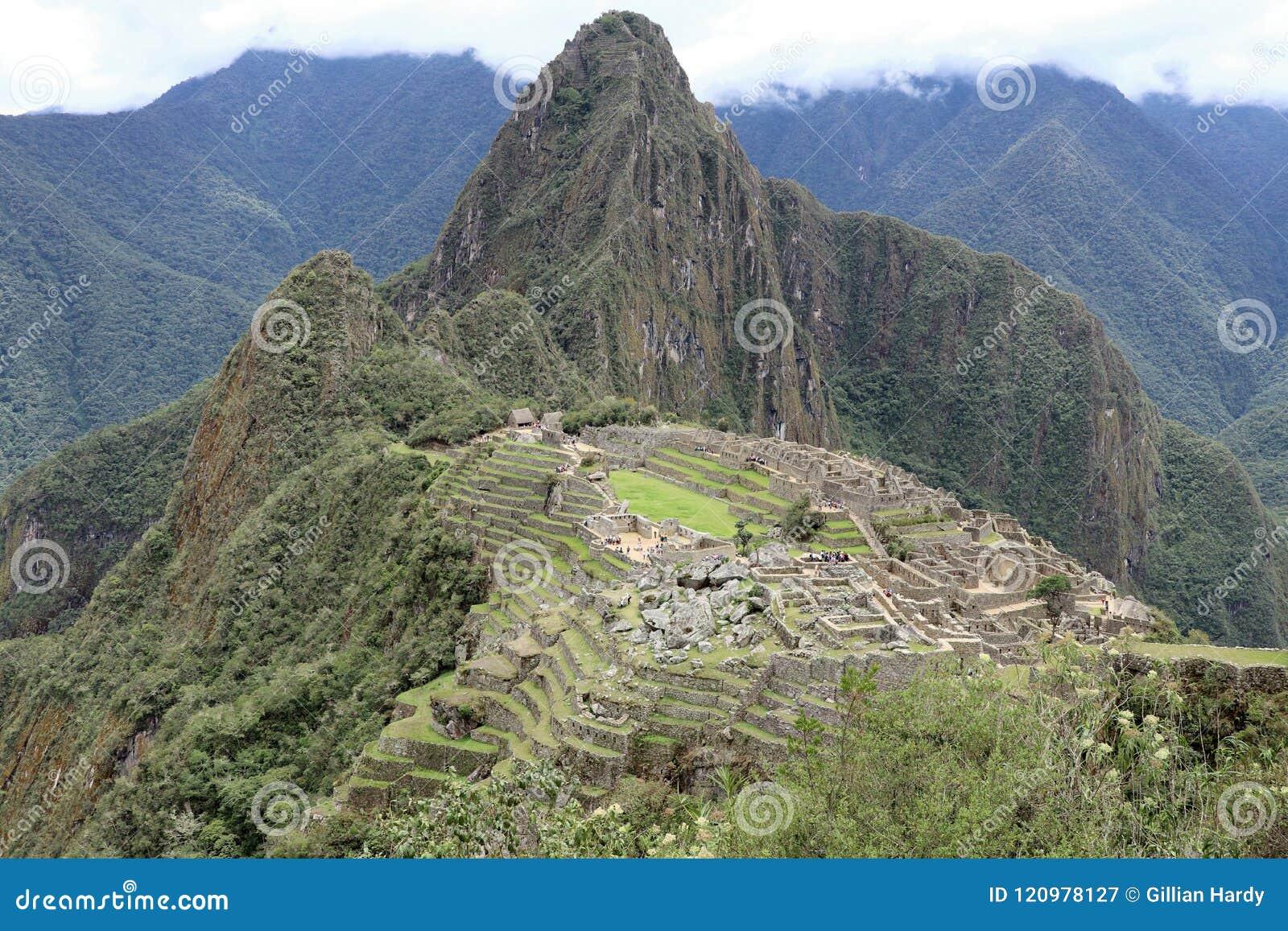 马丘比丘秘鲁视图