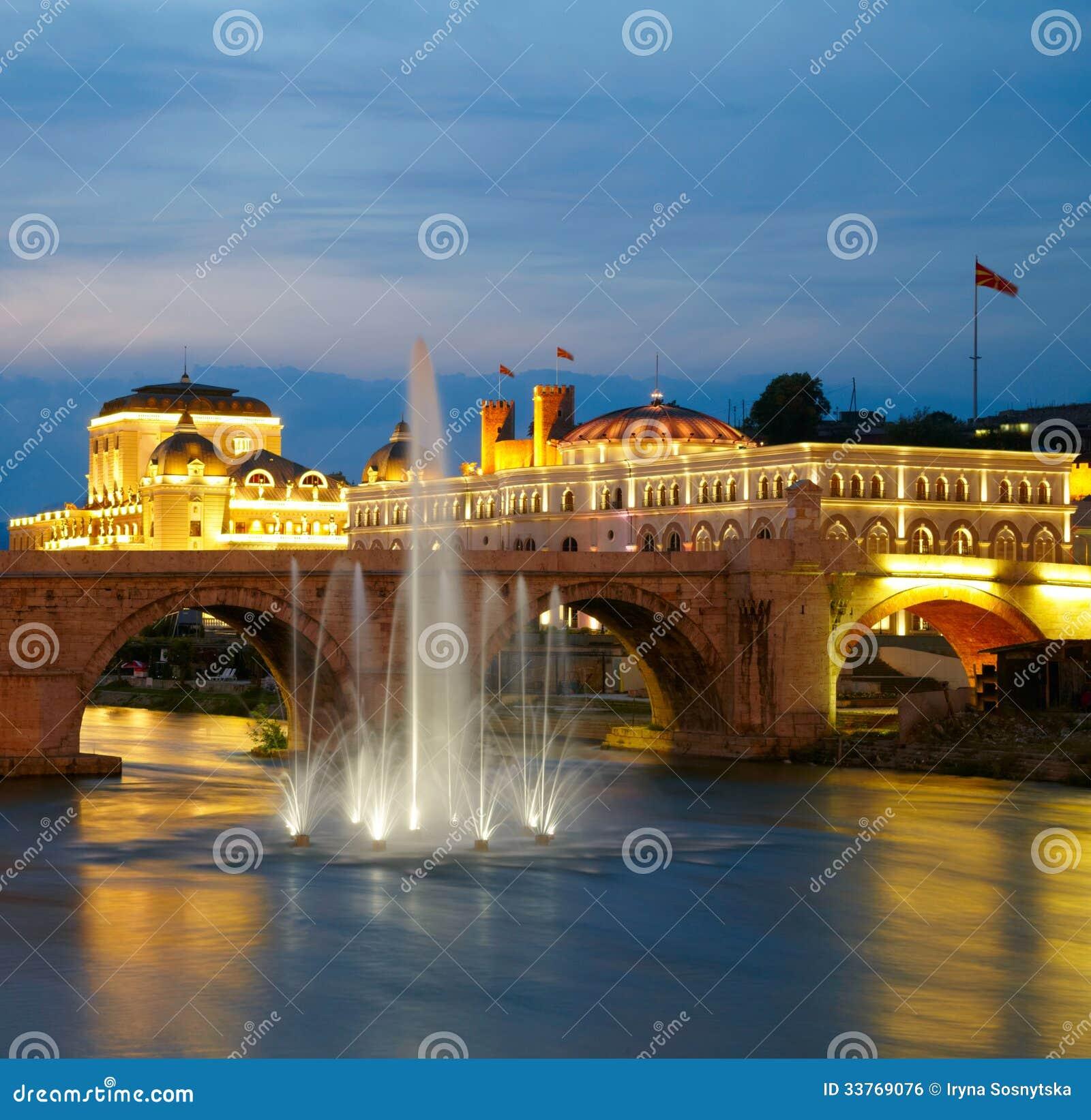 马其顿人的首都斯科普里