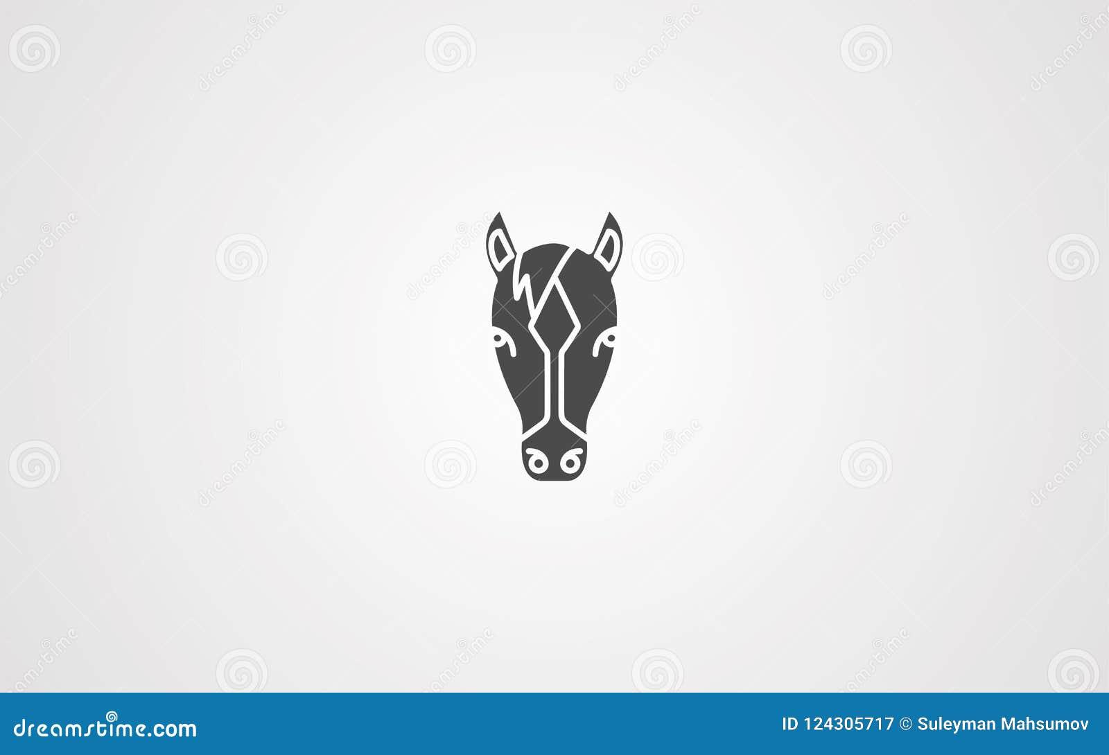 马头传染媒介象标志标志