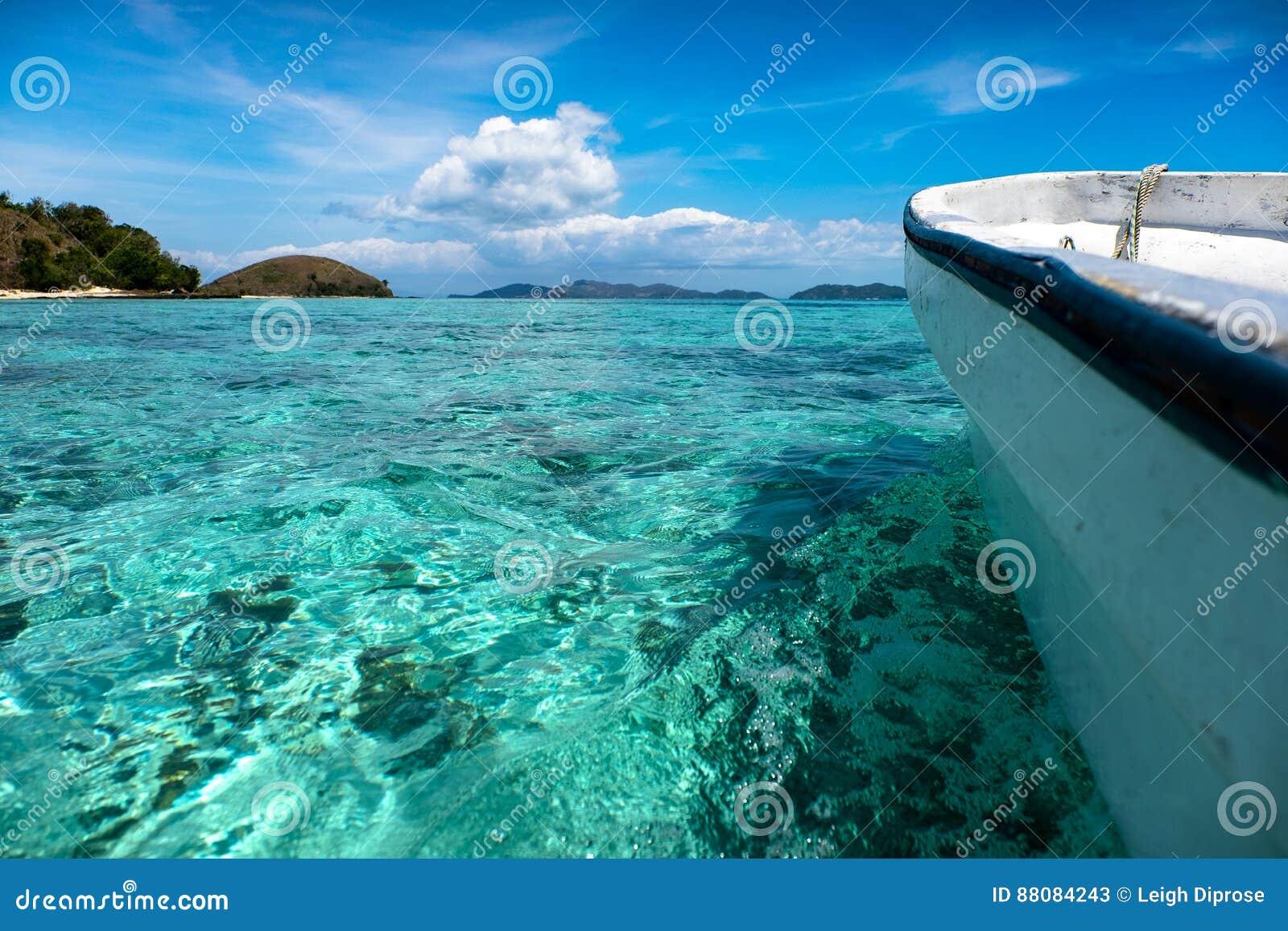 马娜海岛在斐济